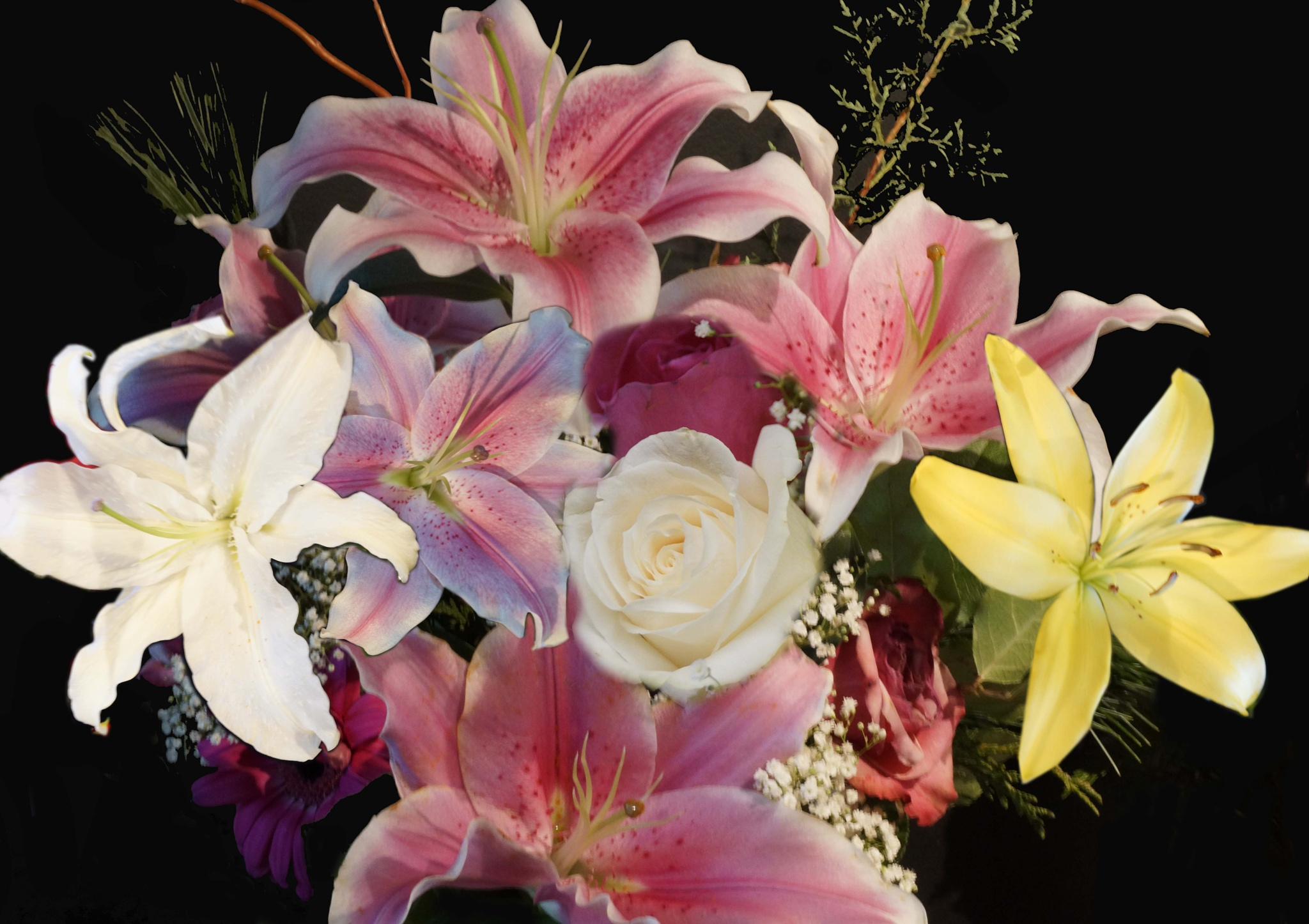 Bouquet by Barry Phillips