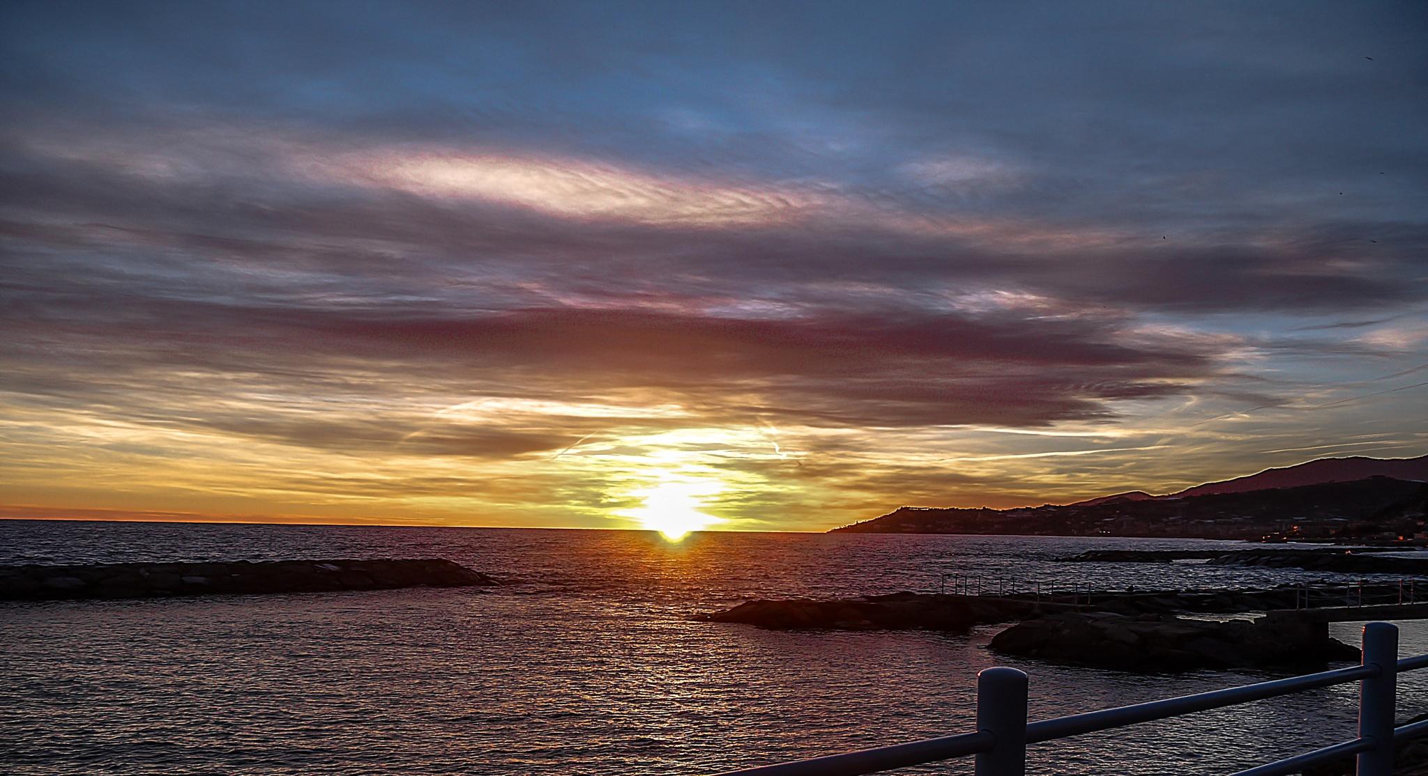 sunset again by iuliacordeanu
