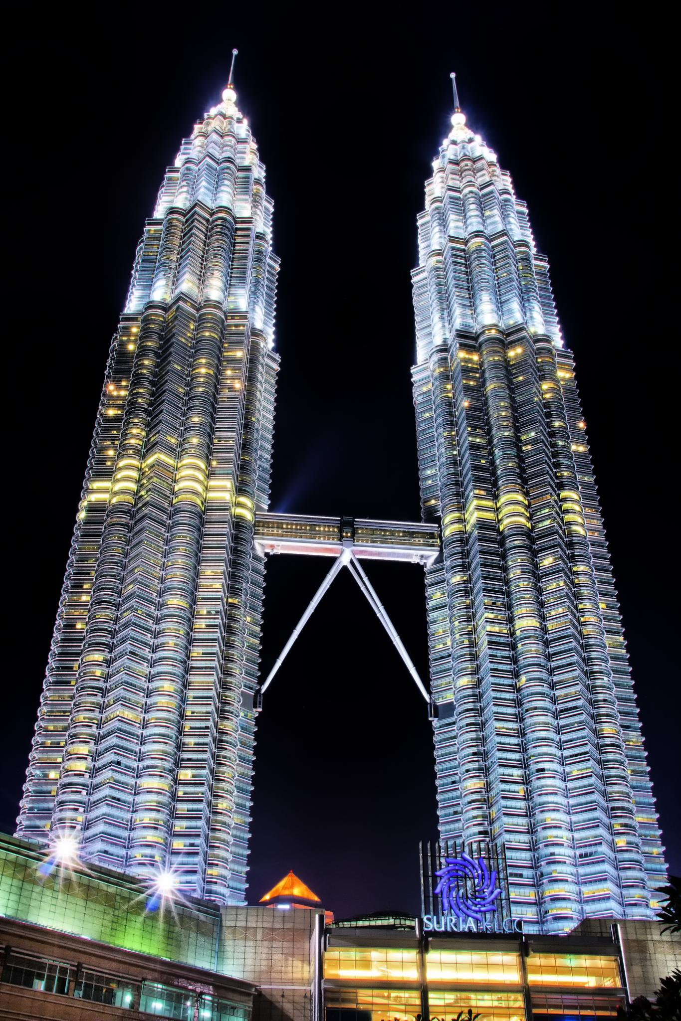 Twin Tower by Ronaldo Edson Reyes