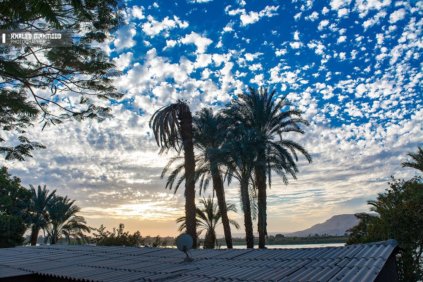 sunset by khaledmahmoud