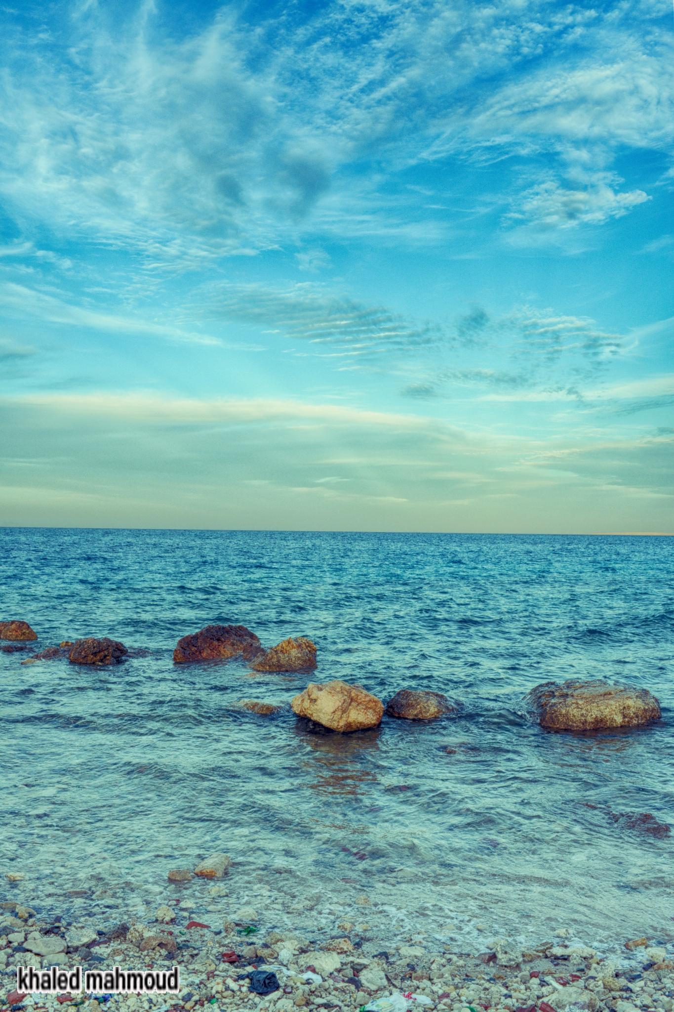 sea .. by khaledmahmoud