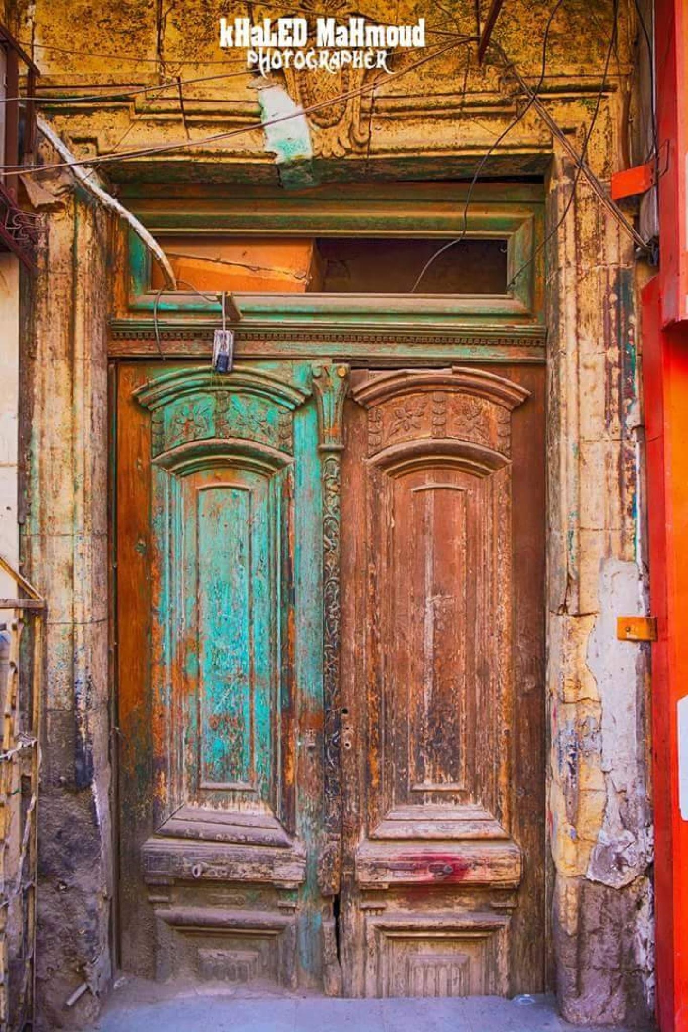old door by khaledmahmoud