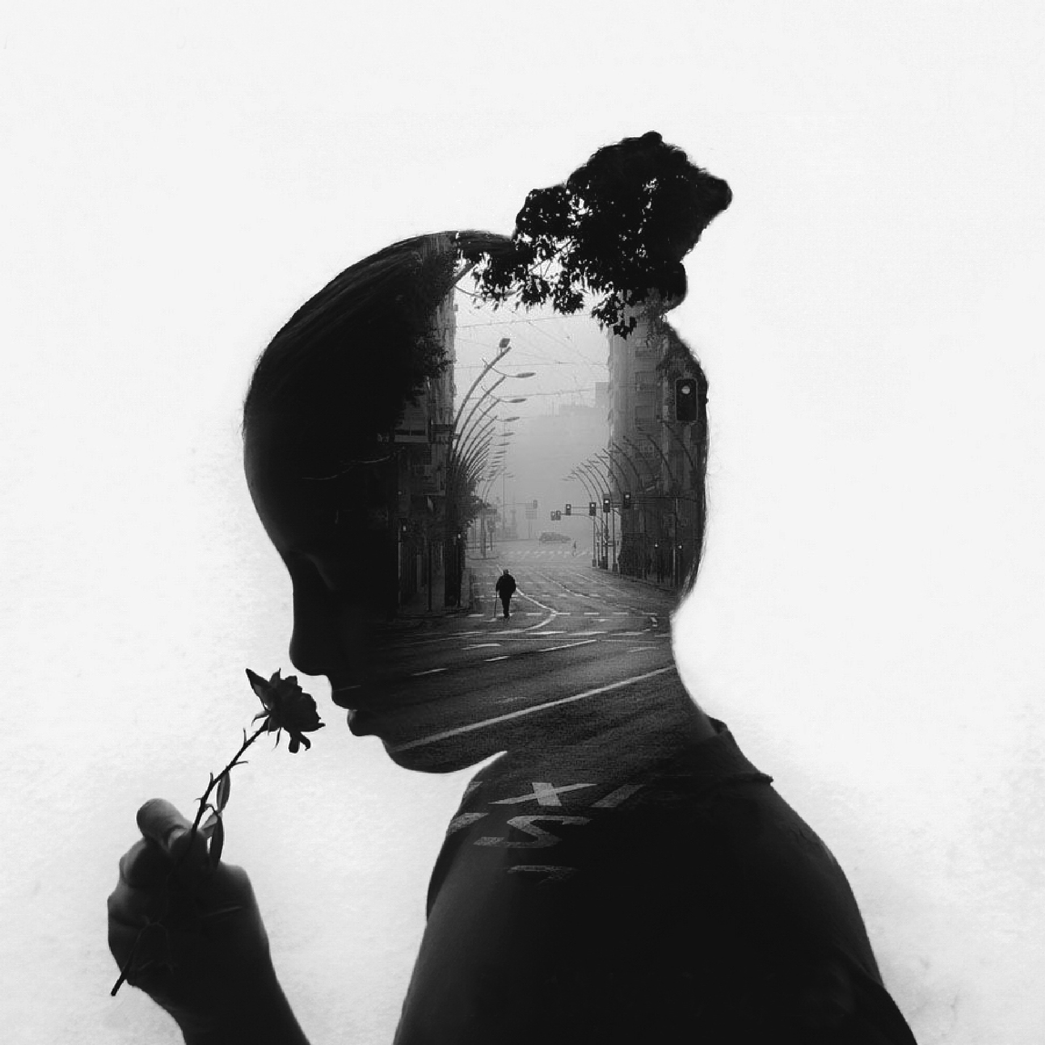 Alone by Amany Baker