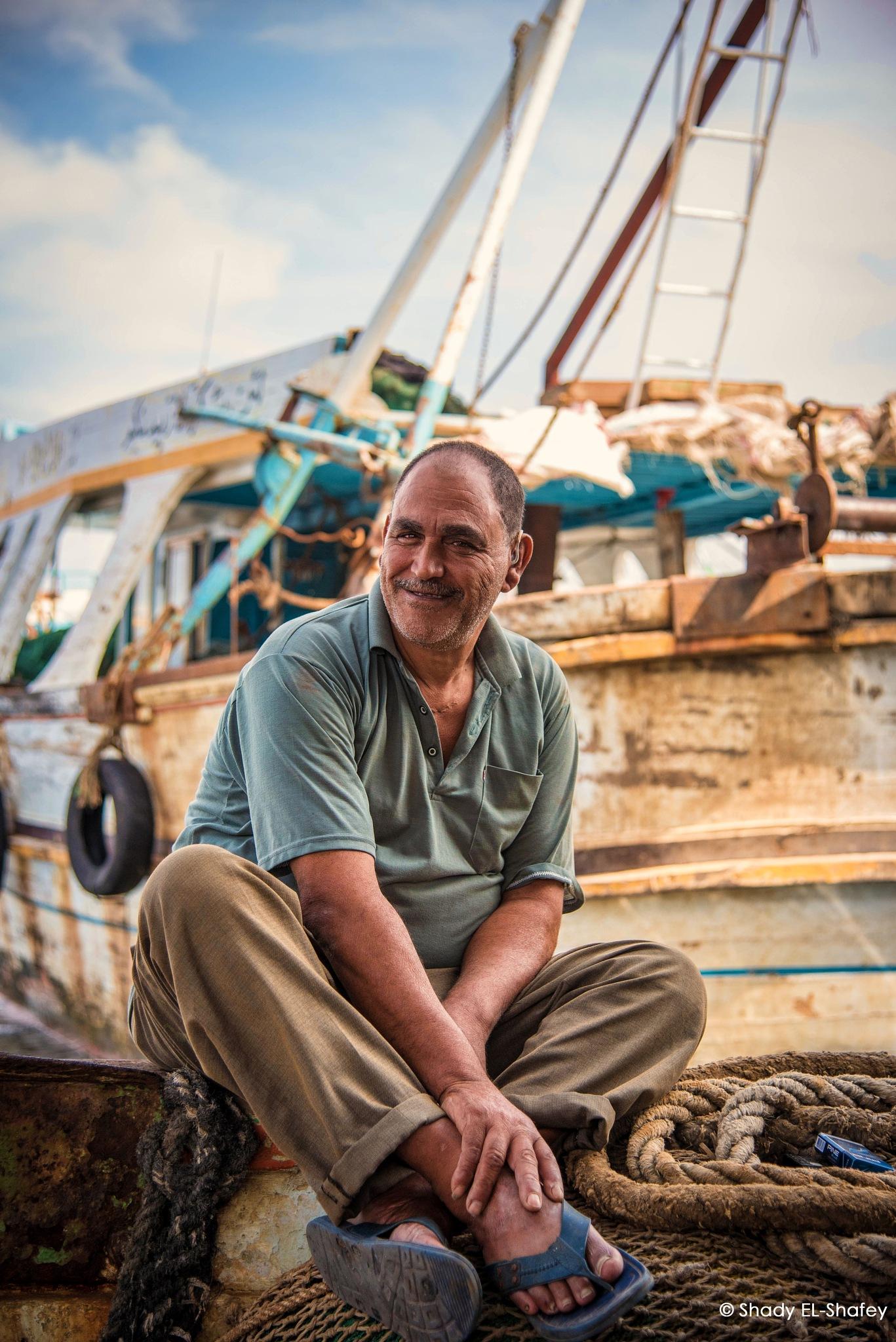 Fisherman by Shady EL-Shafey