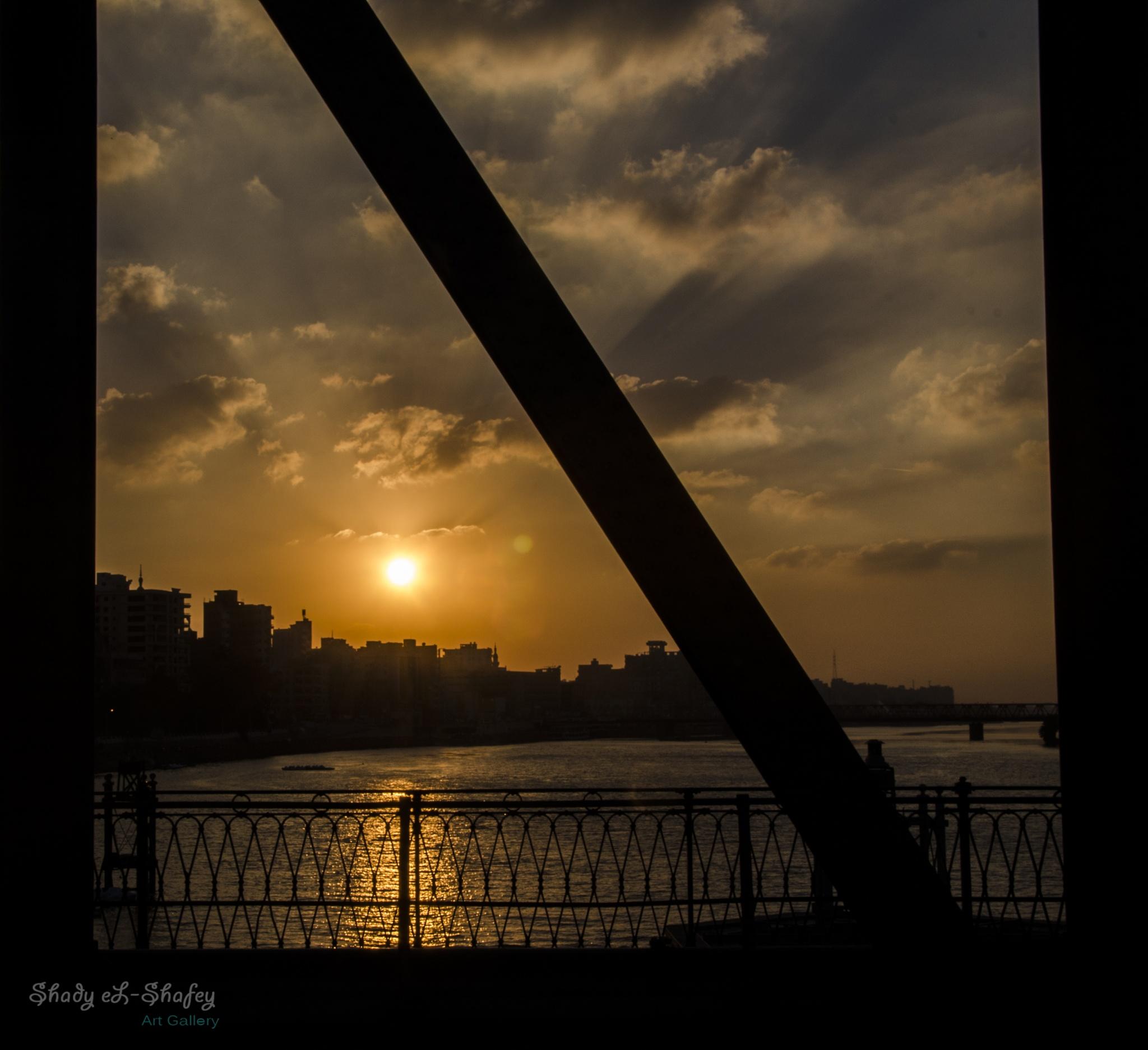 sunset by Shady EL-Shafey