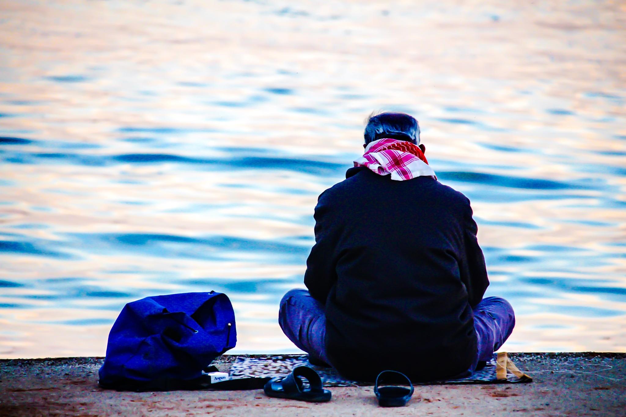 Fisherman by AymanAlwaeli