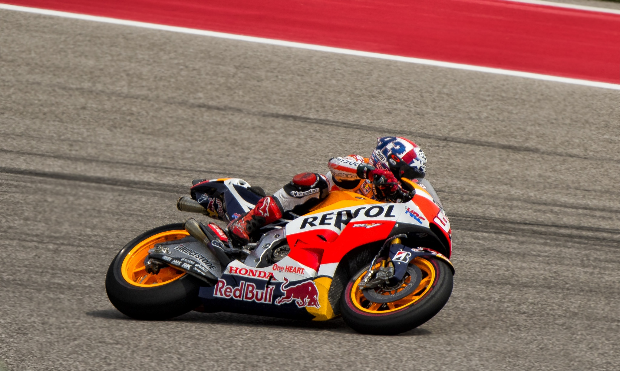 Marc Marquez by Jerry Angelica