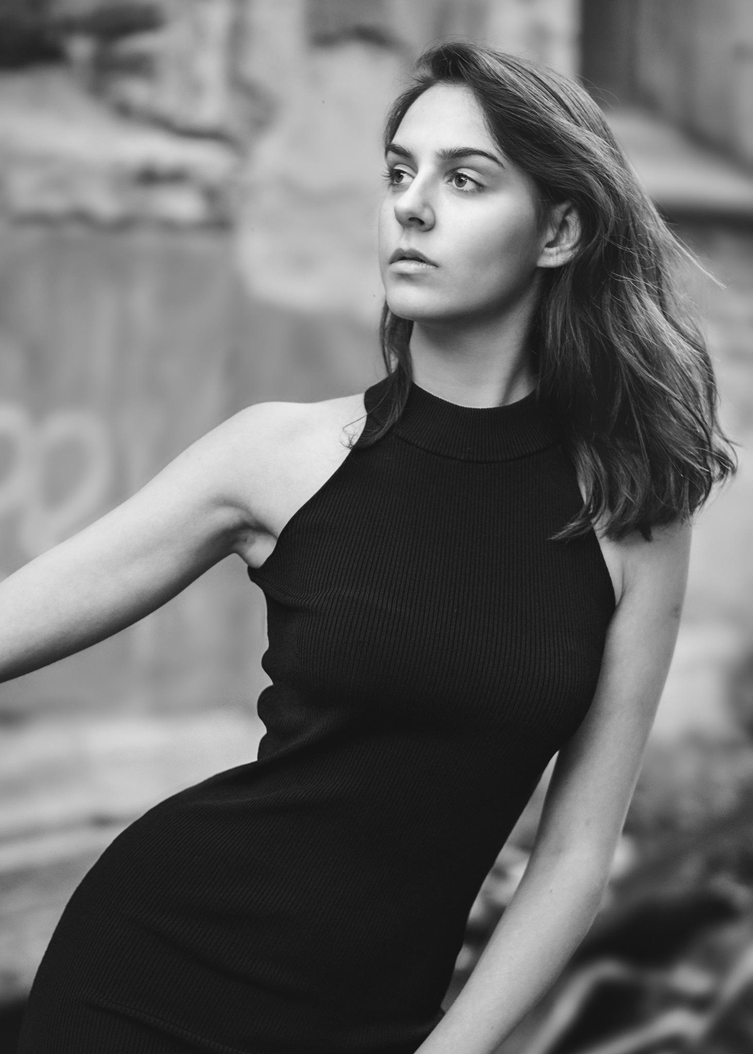 little black dress by Oujasenne Muhlen