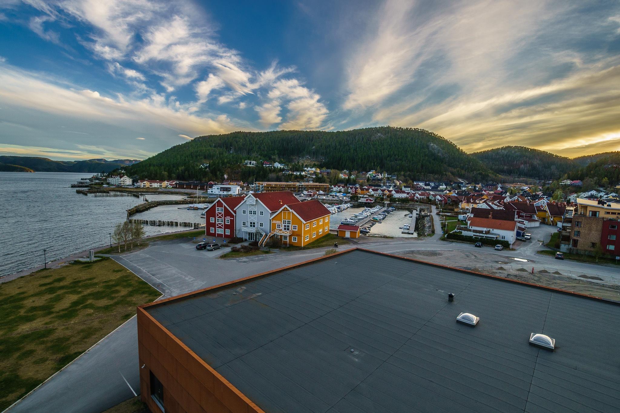 Morning in Namsos by Jens-Chr.