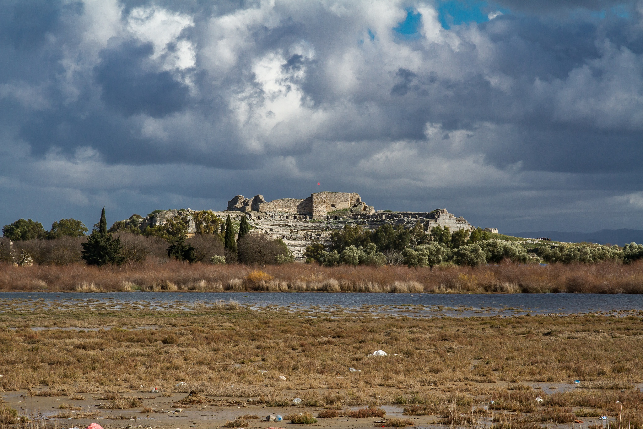 Ruins at Miletos by Jens-Chr.
