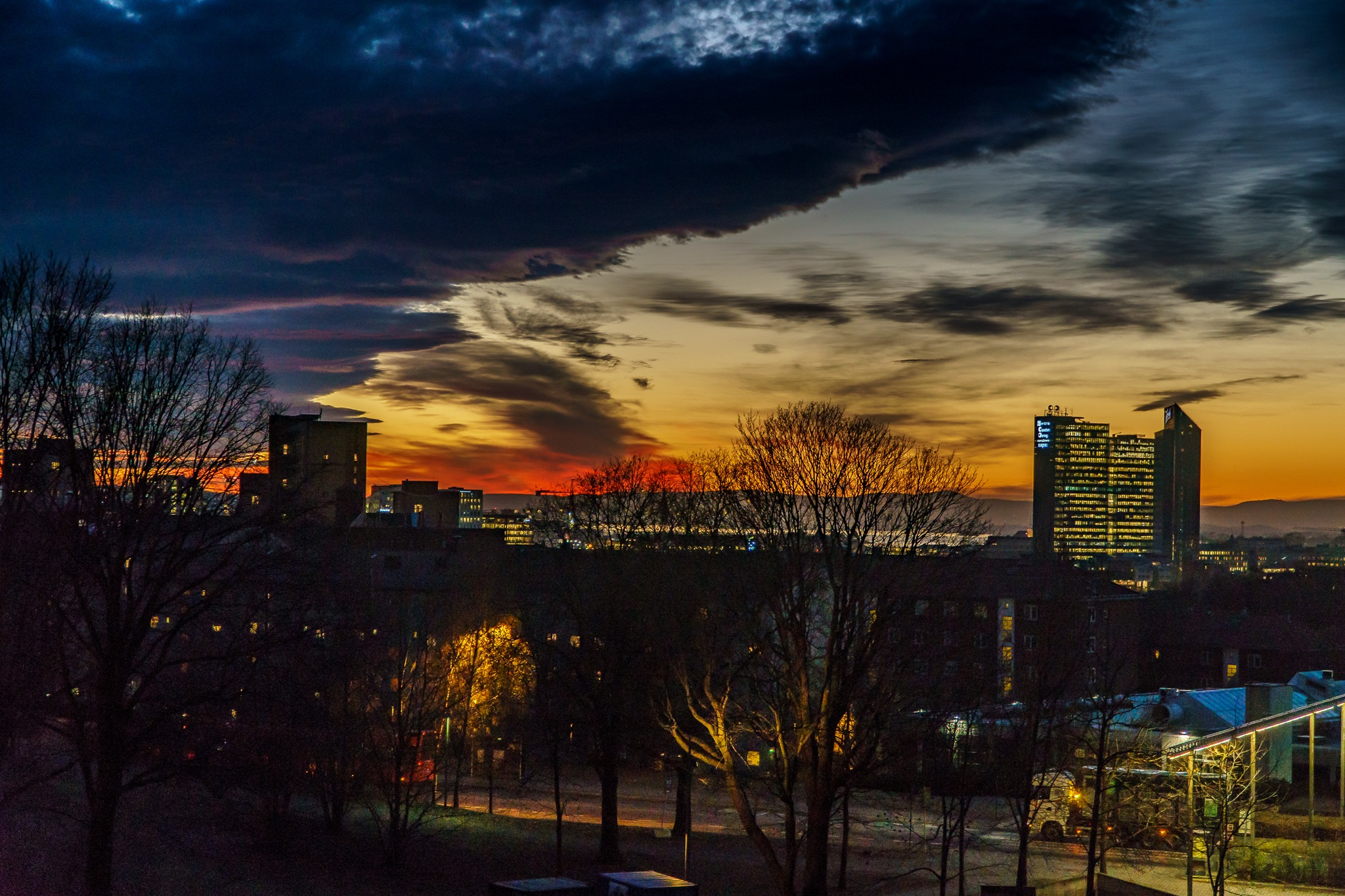 Sunset in Oslo by Jens-Chr.