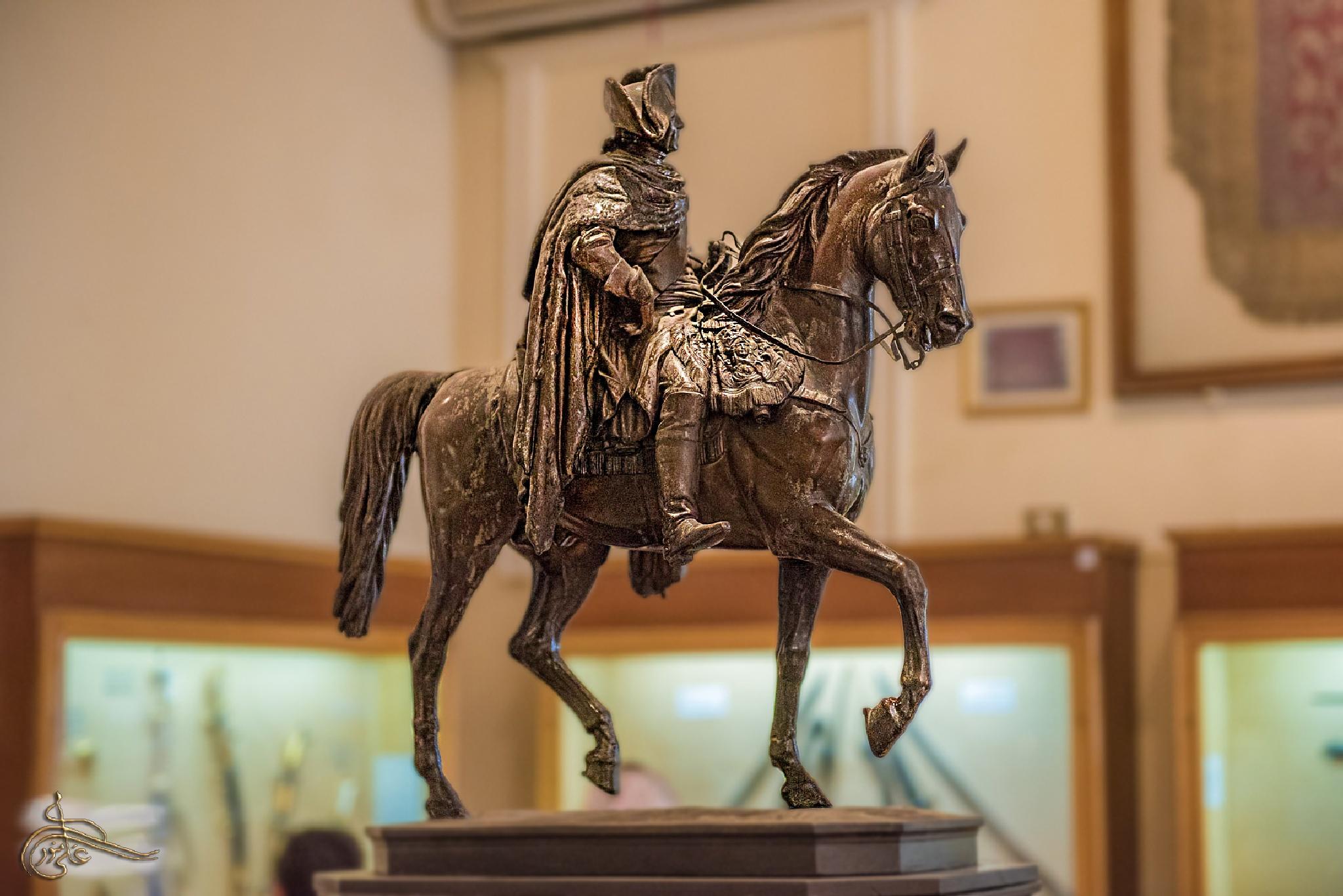 figure of horse by AliMenawar