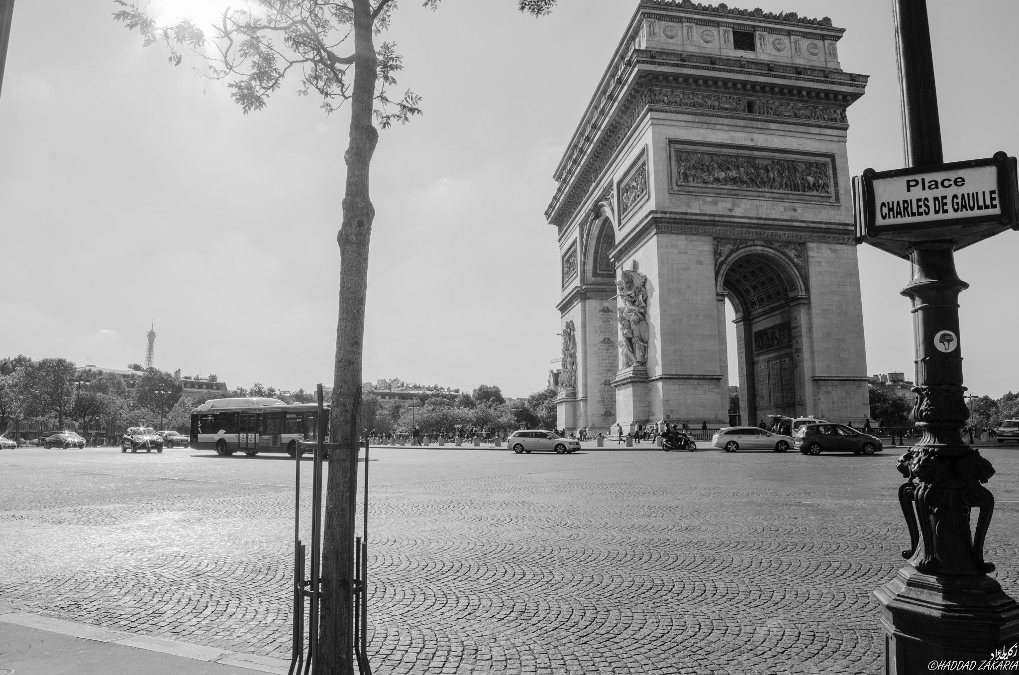 Arc de Triomphe 01 by Zakaria Haddad