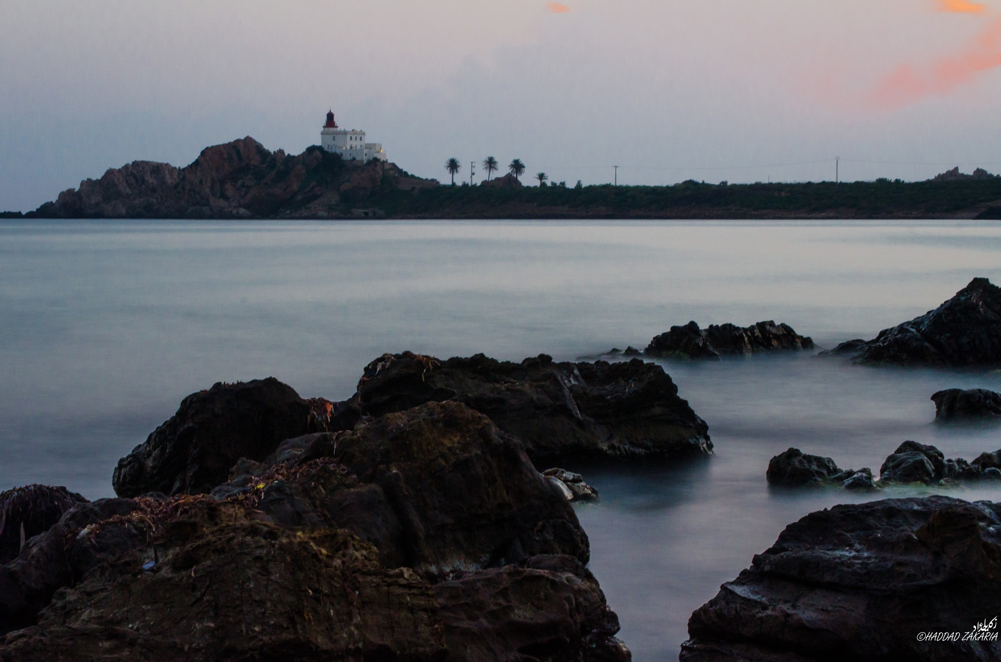 Lighthouse morning by Zakaria Haddad