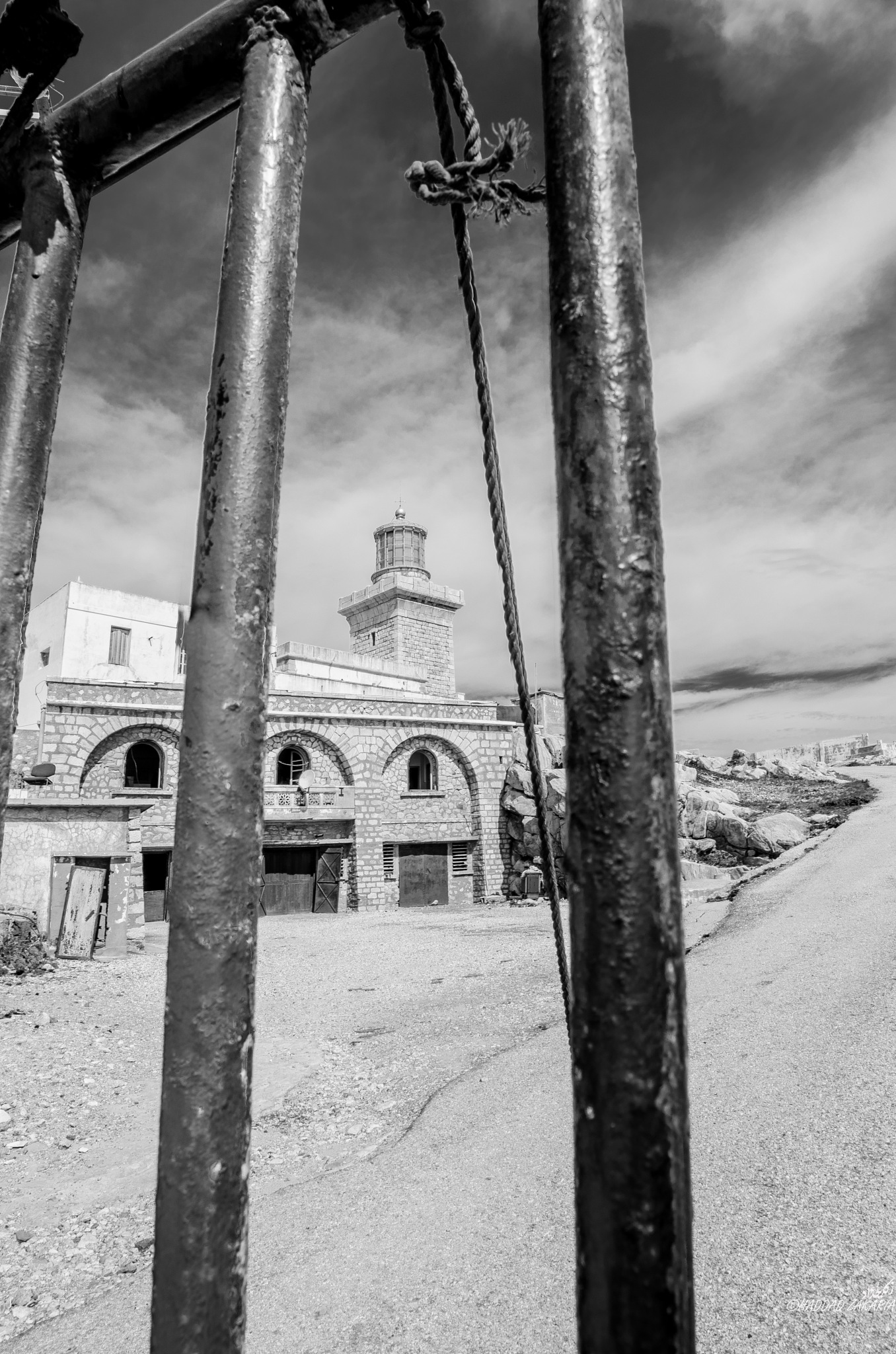 Light House by Zakaria Haddad