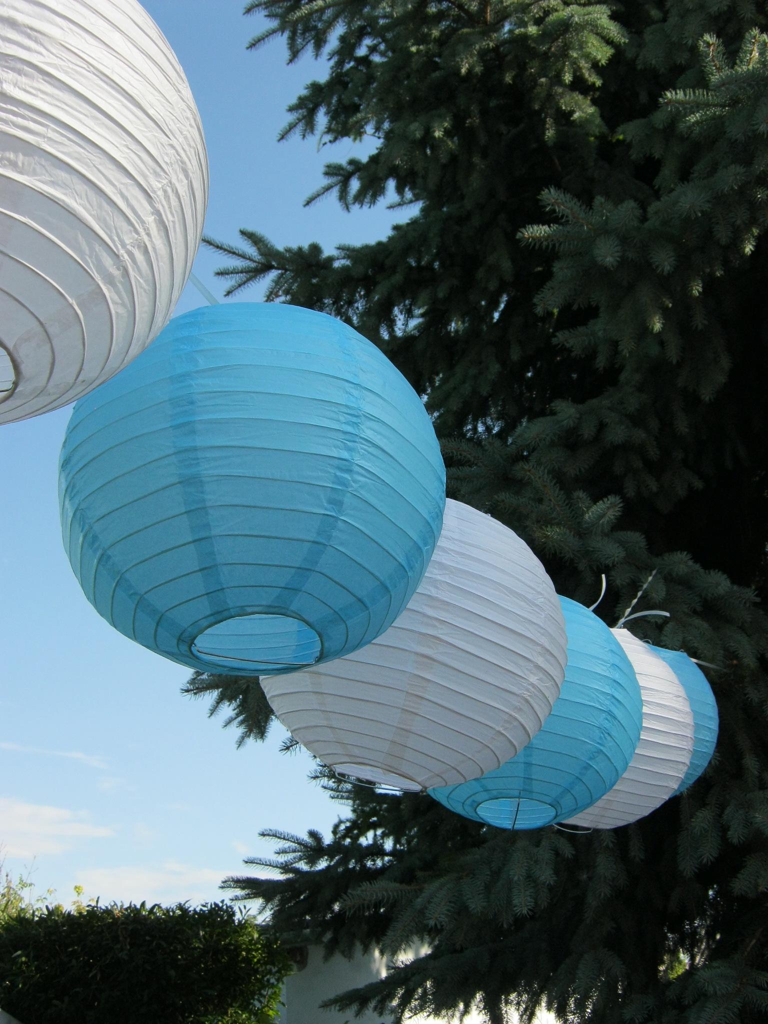 Lanterns. by Lilla