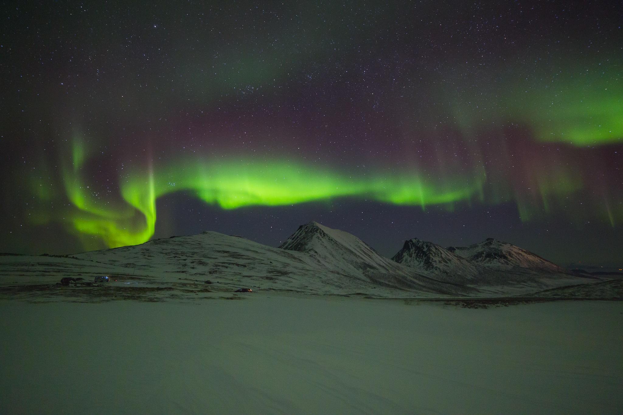 Arctic night by Tamás Szabó