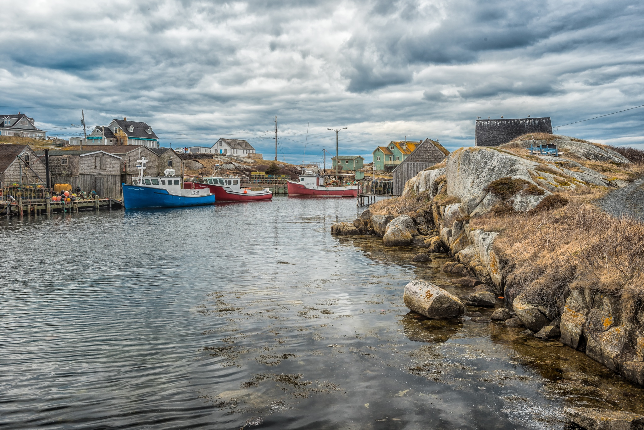 Peggy's Cove Nova Scotia by Aaron Peterson