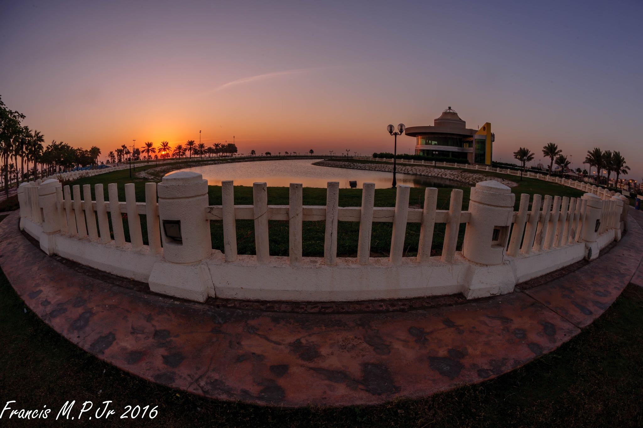 Sunrise in Khobar by Francisco M Pastoril Jr