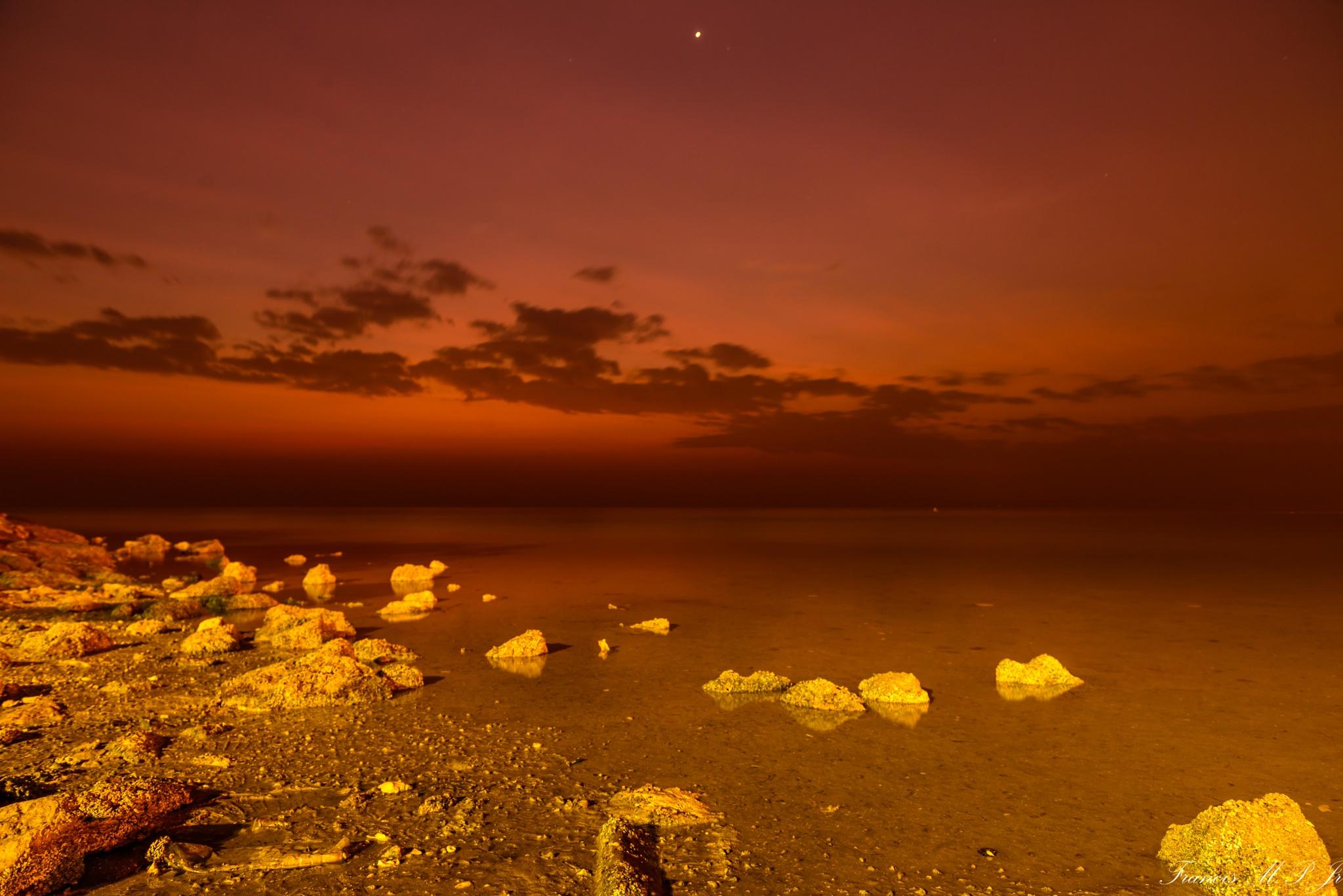Al Khobar shore by Francisco M Pastoril Jr