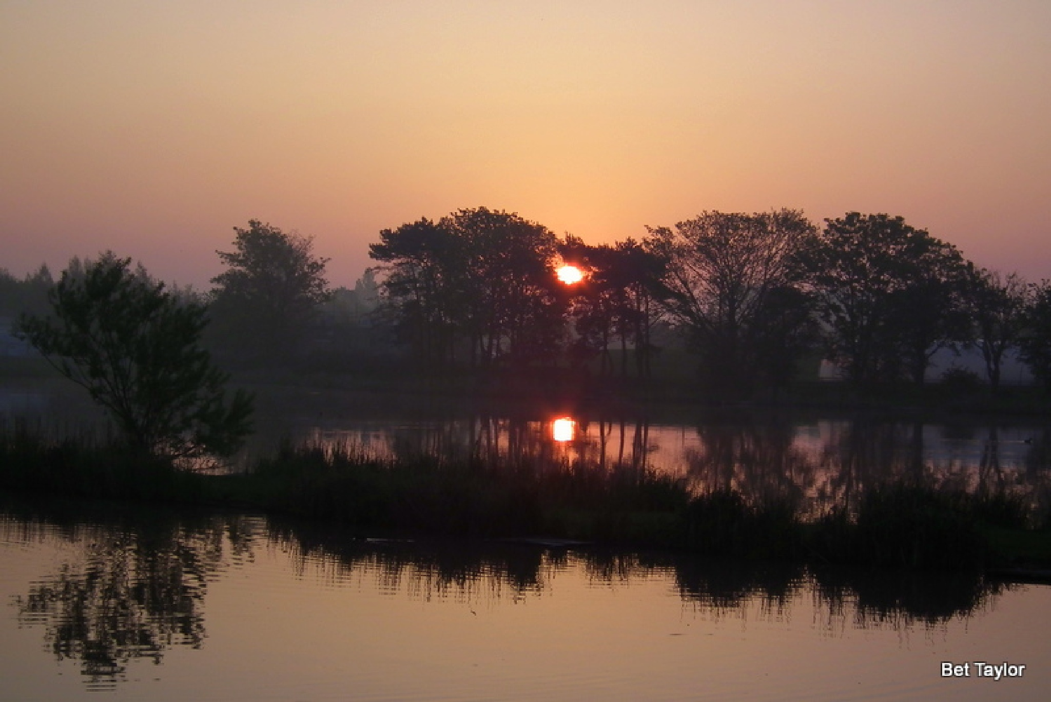 sunrise by Betty Taylor