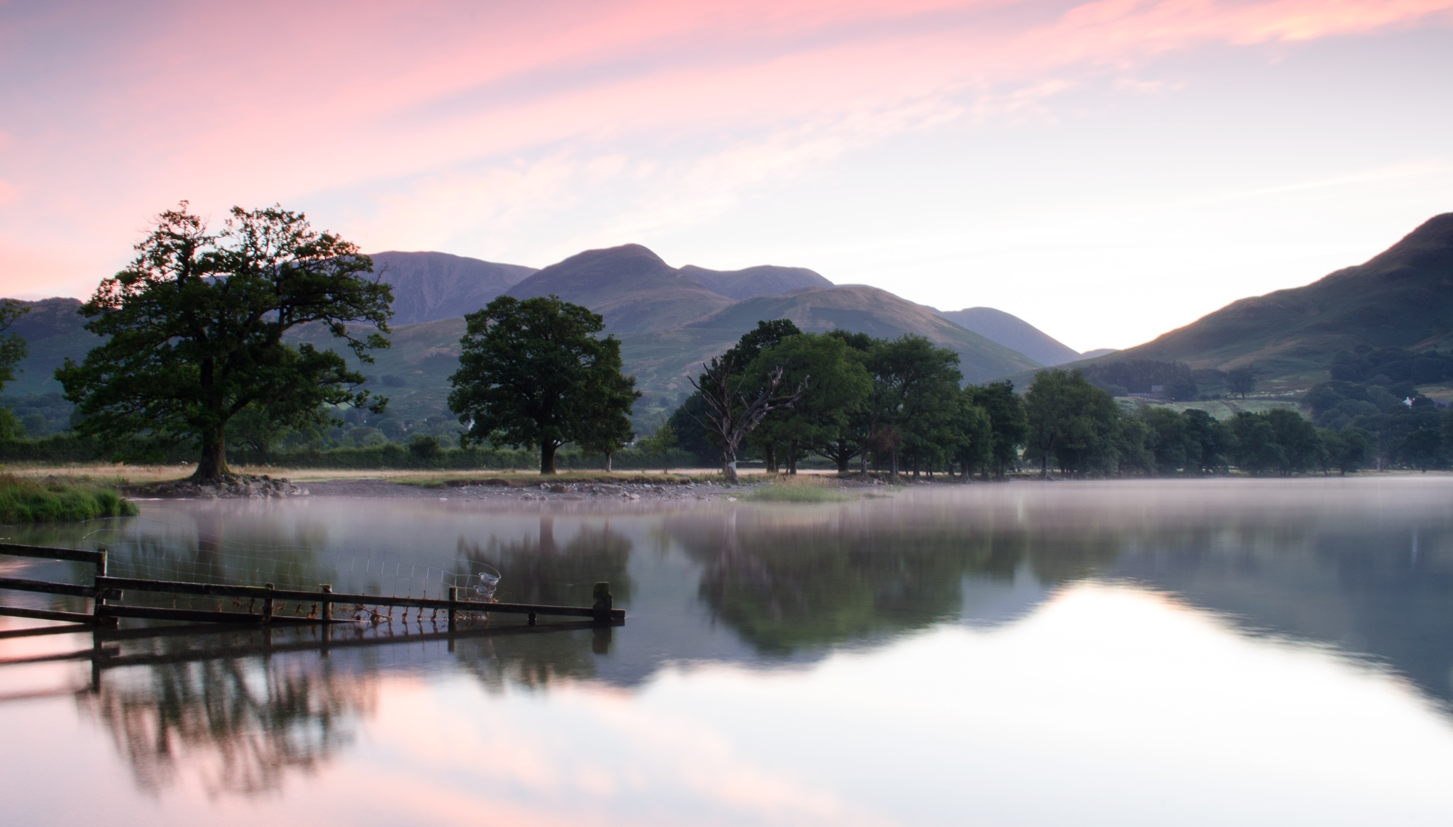 Misty reflections by Simon Lea
