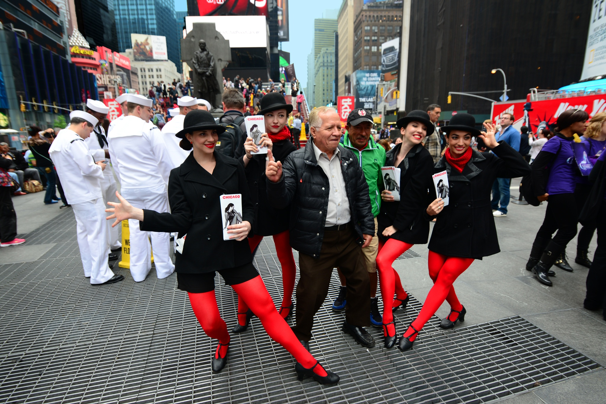 Broadway Promo at Times Square NYC by Nelson Sibulo