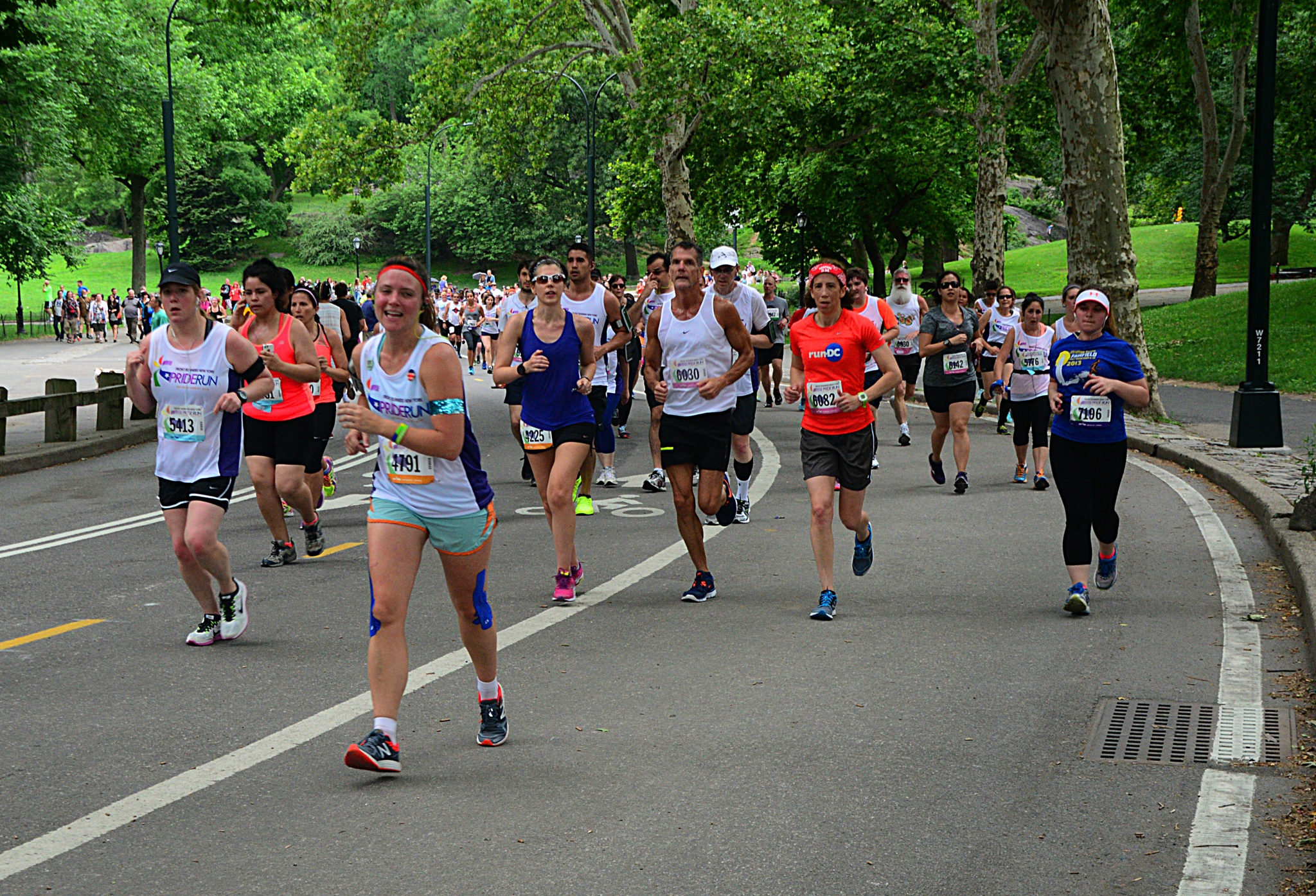 Central Park 5K Run by Nelson Sibulo