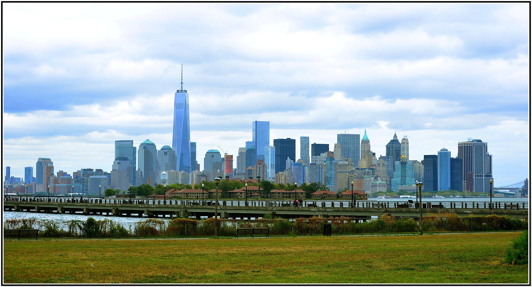 Lower Manhattan by Nelson Sibulo