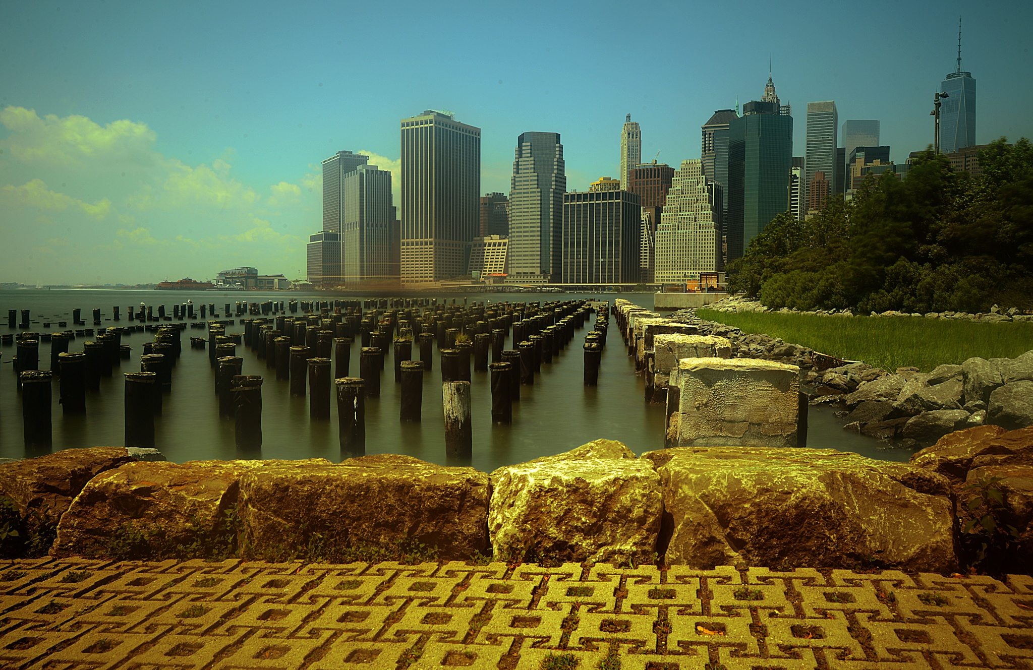 Brooklyn Bridge park by Nelson Sibulo