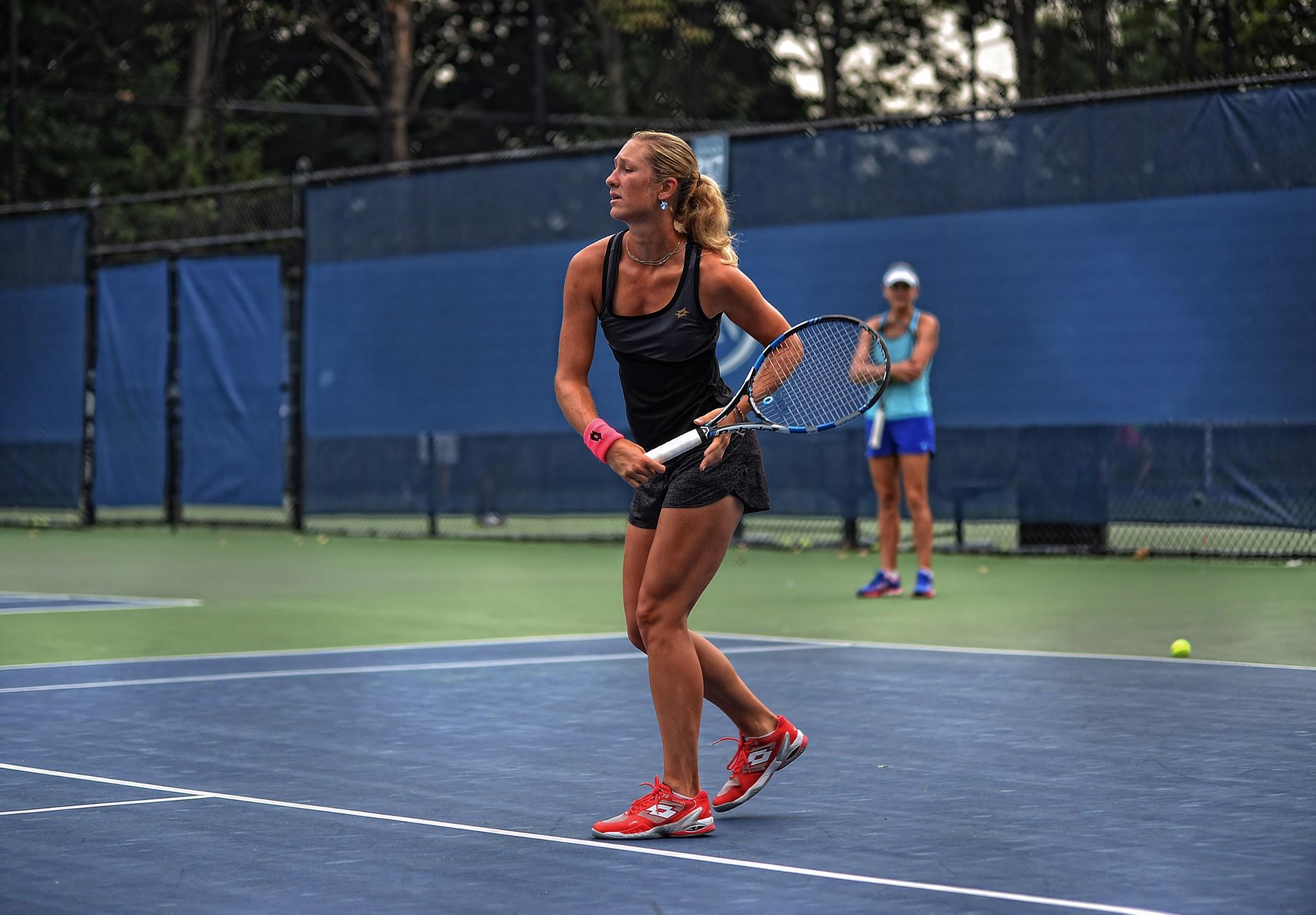 US Women Tennis Open 2015 by Nelson Sibulo