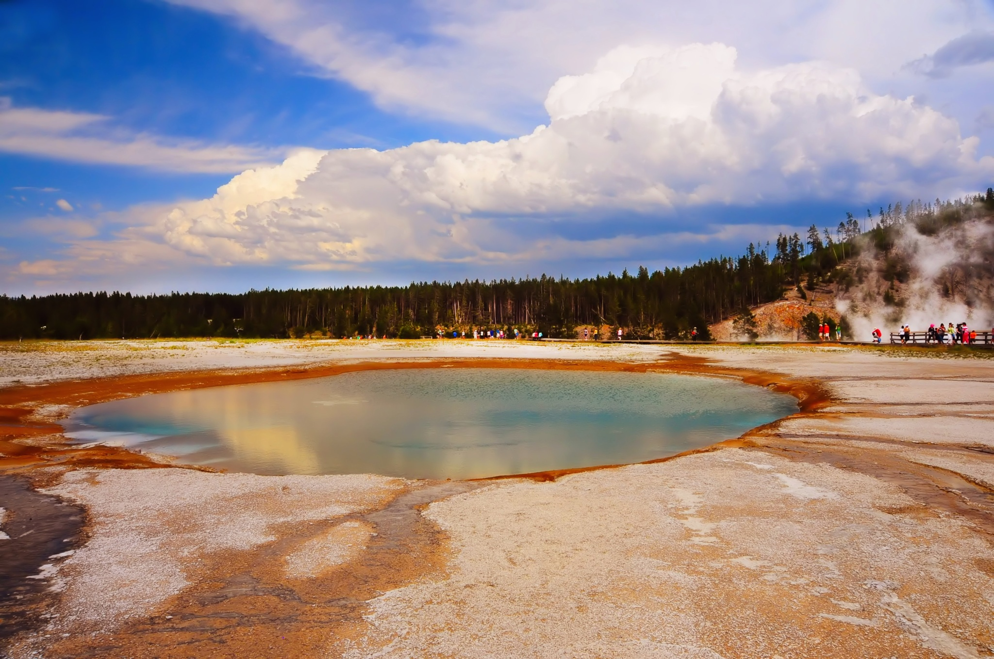 West Yellowstone National Park - Old favorite by Nelson Sibulo