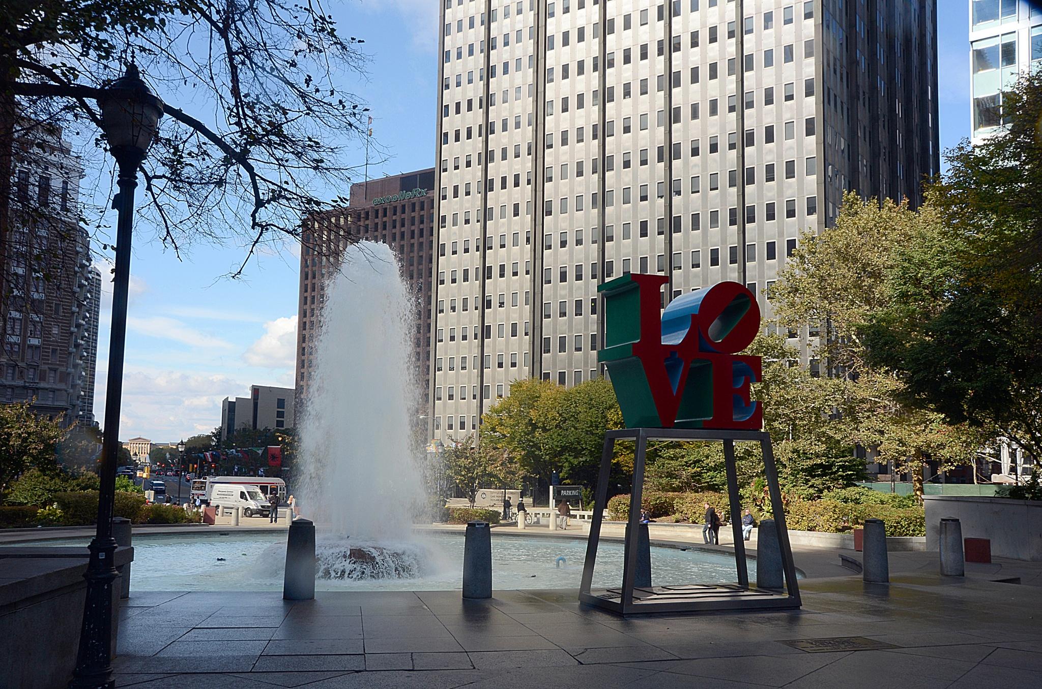 City center Philadelphia by Nelson Sibulo
