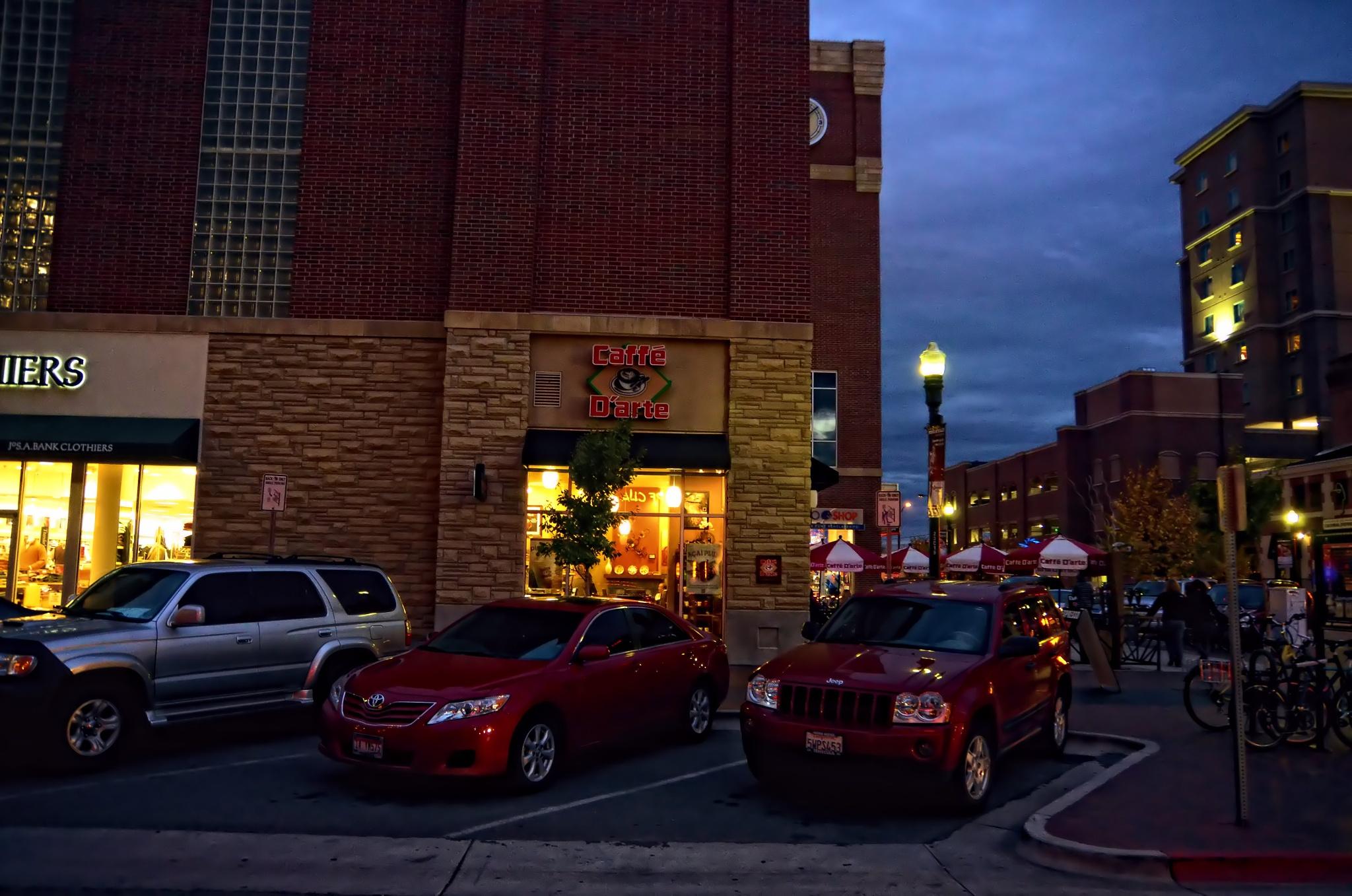 Boise Coffee Shop by Nelson Sibulo