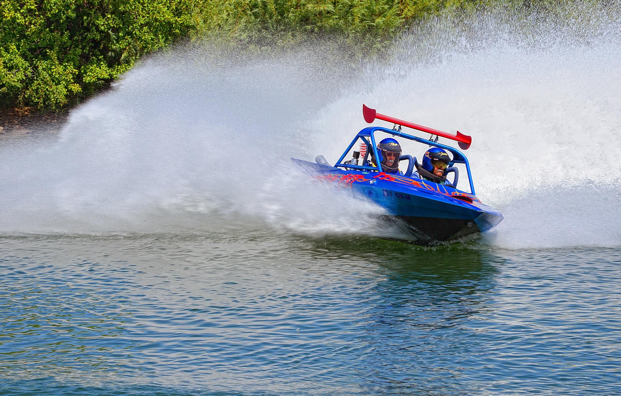 Speed Boat Race by Nelson Sibulo