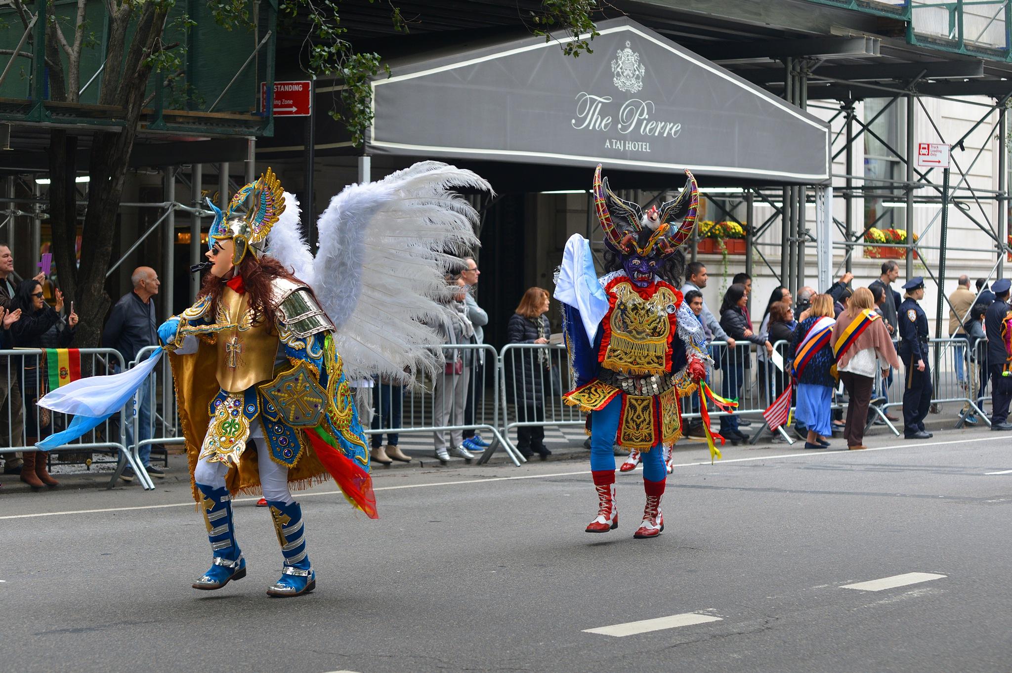 2018 Hispanic Day Parade NYC by Nelson Sibulo