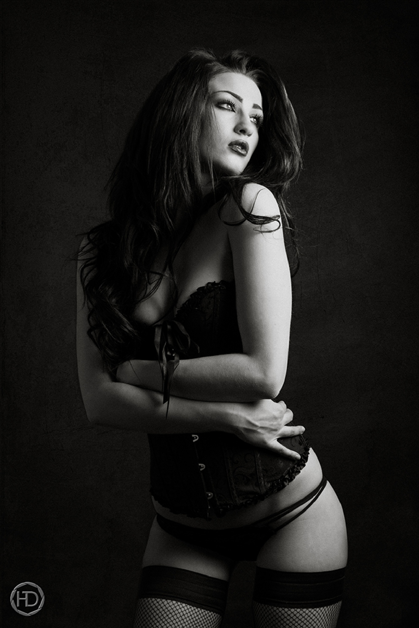 BLACK CORSET by HDphotographie