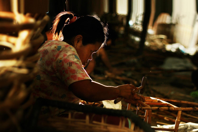 The woman hard work by aziz