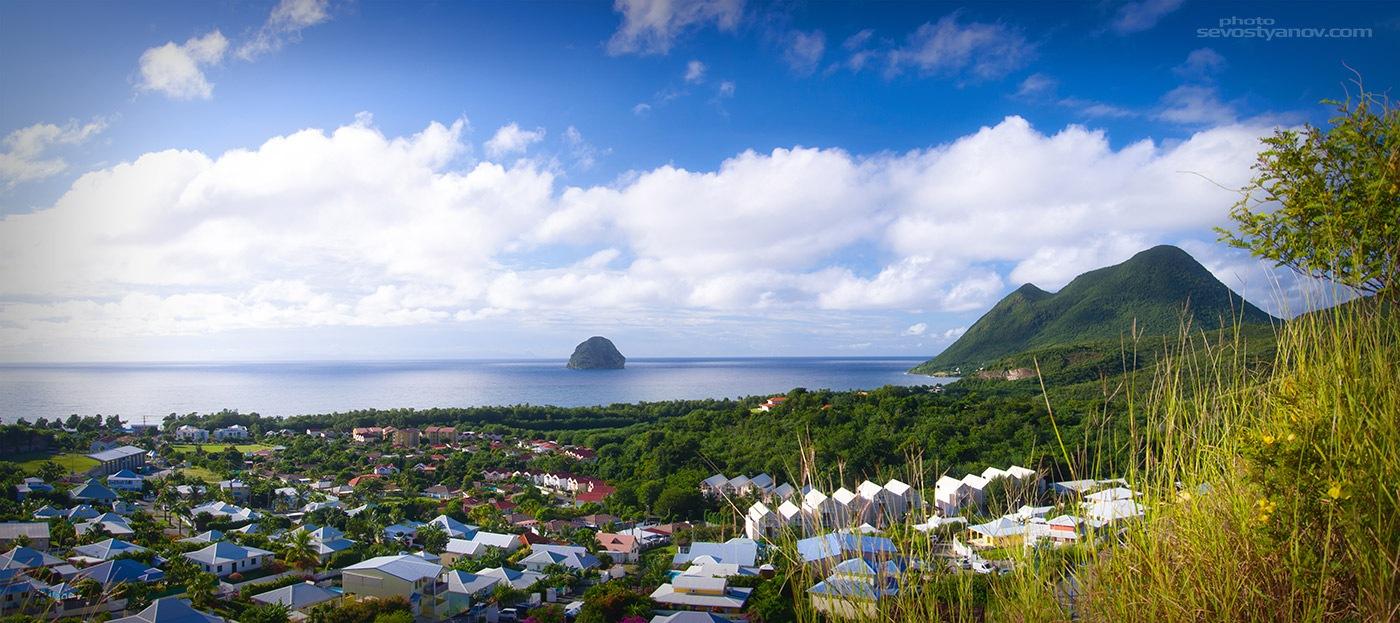 Caribbean Island Town by cinema4design