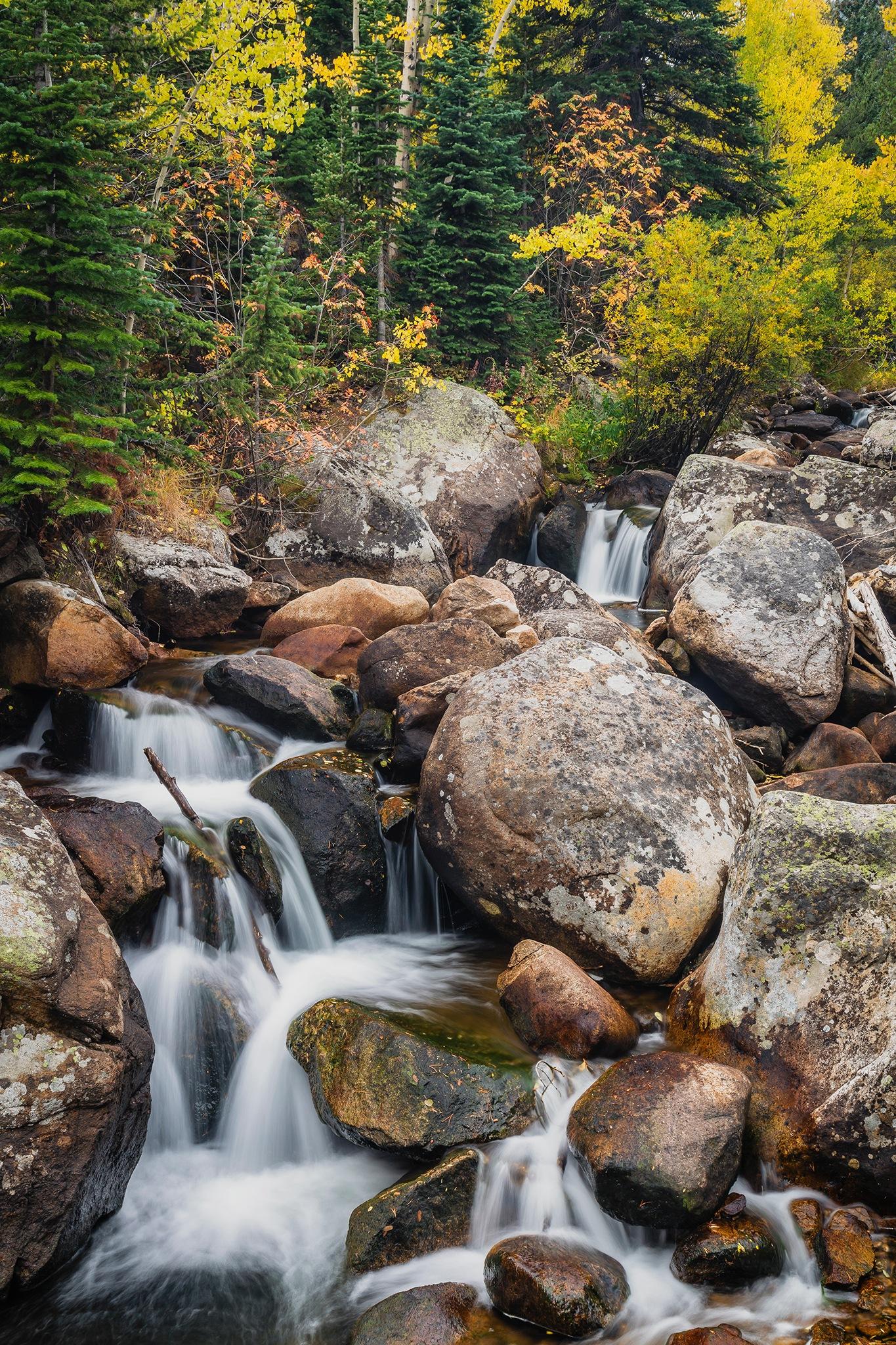 Glacier Creek boulders by Richard Hahn