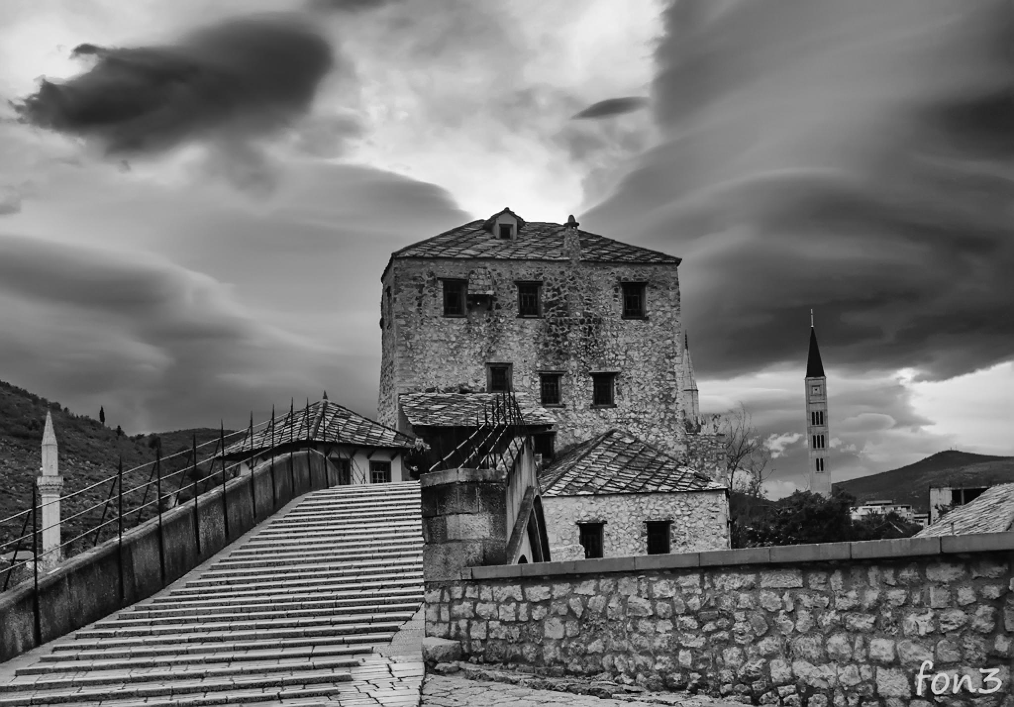 Mostar by elenatrifonova10