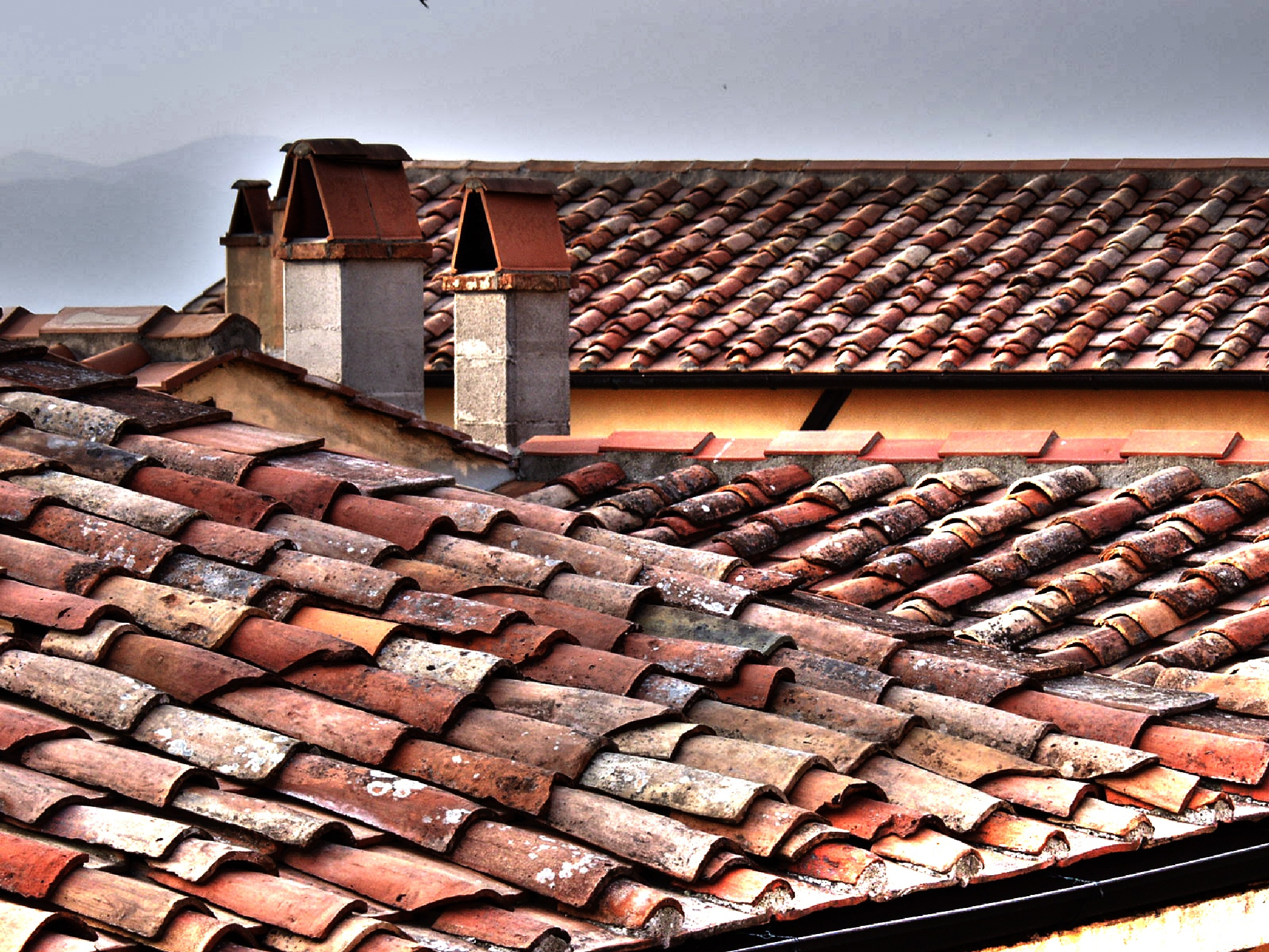 Tuscan Rooftop by Fotoguy