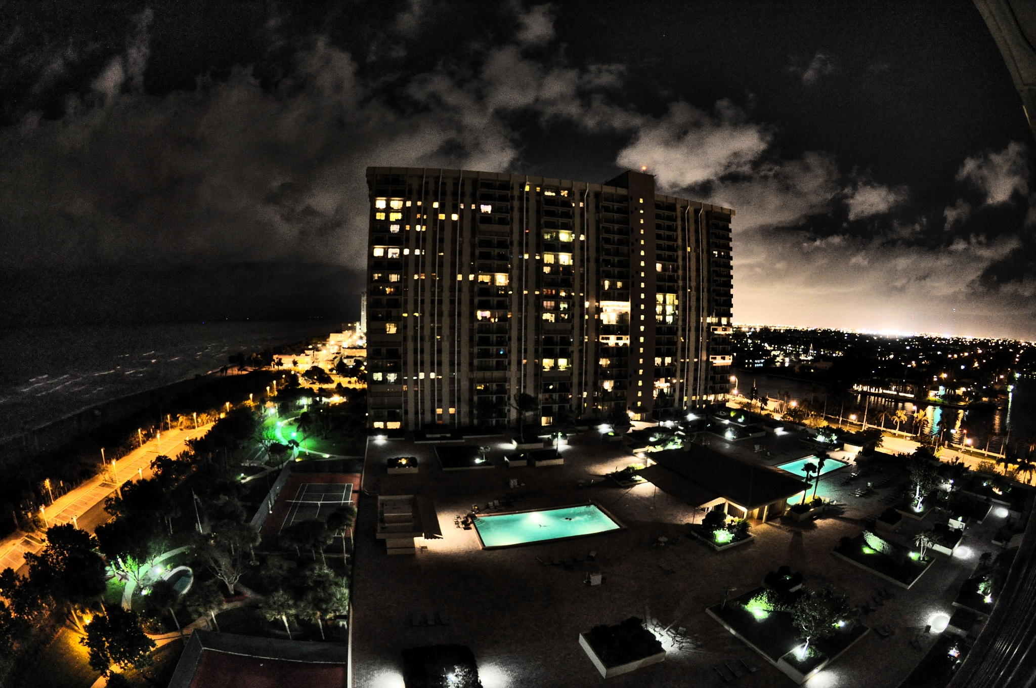 Florida At Night by Fotoguy