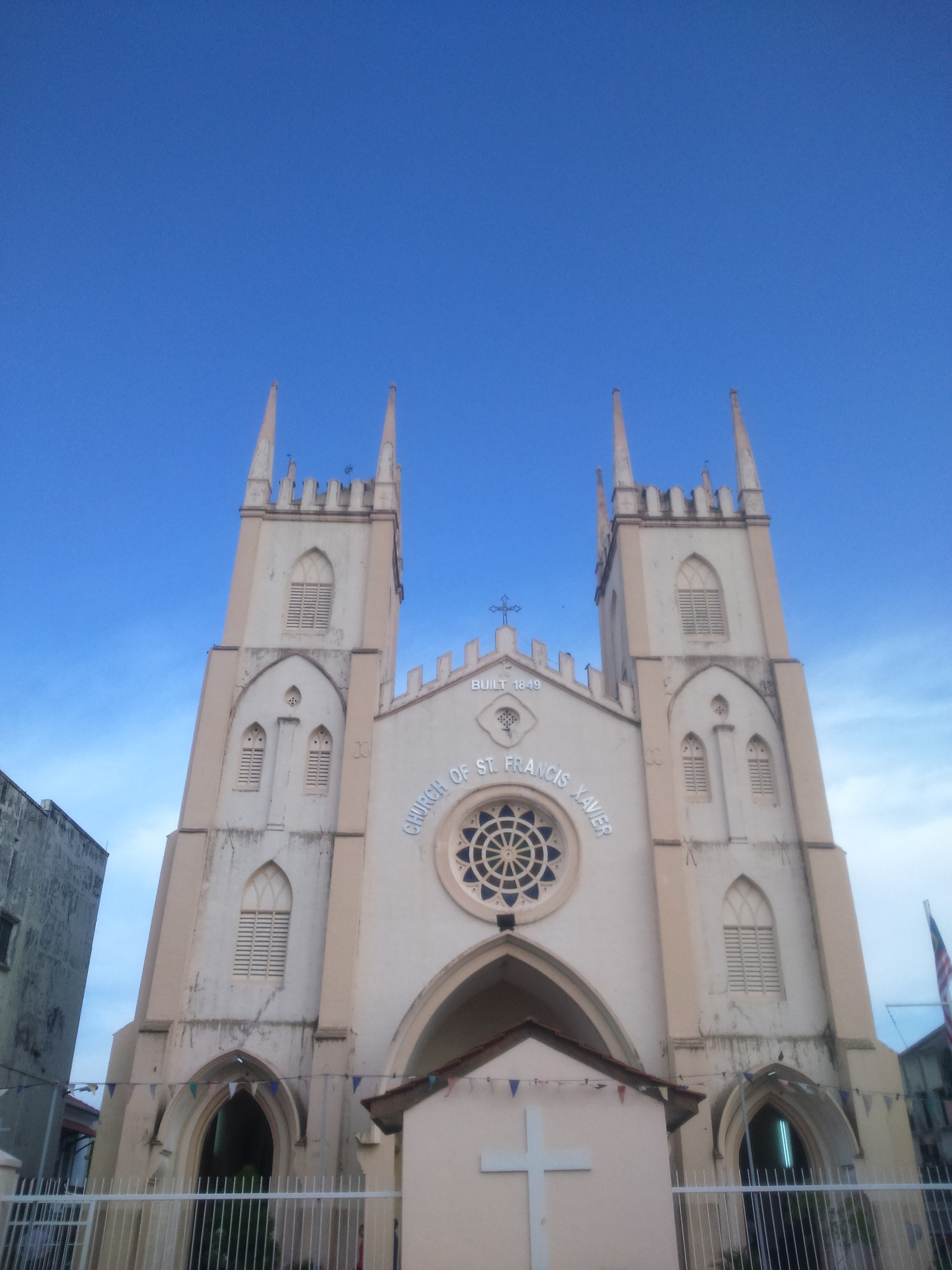 OLD CHURCH OF MELAKA IN TOWN.  by Melissamorgan