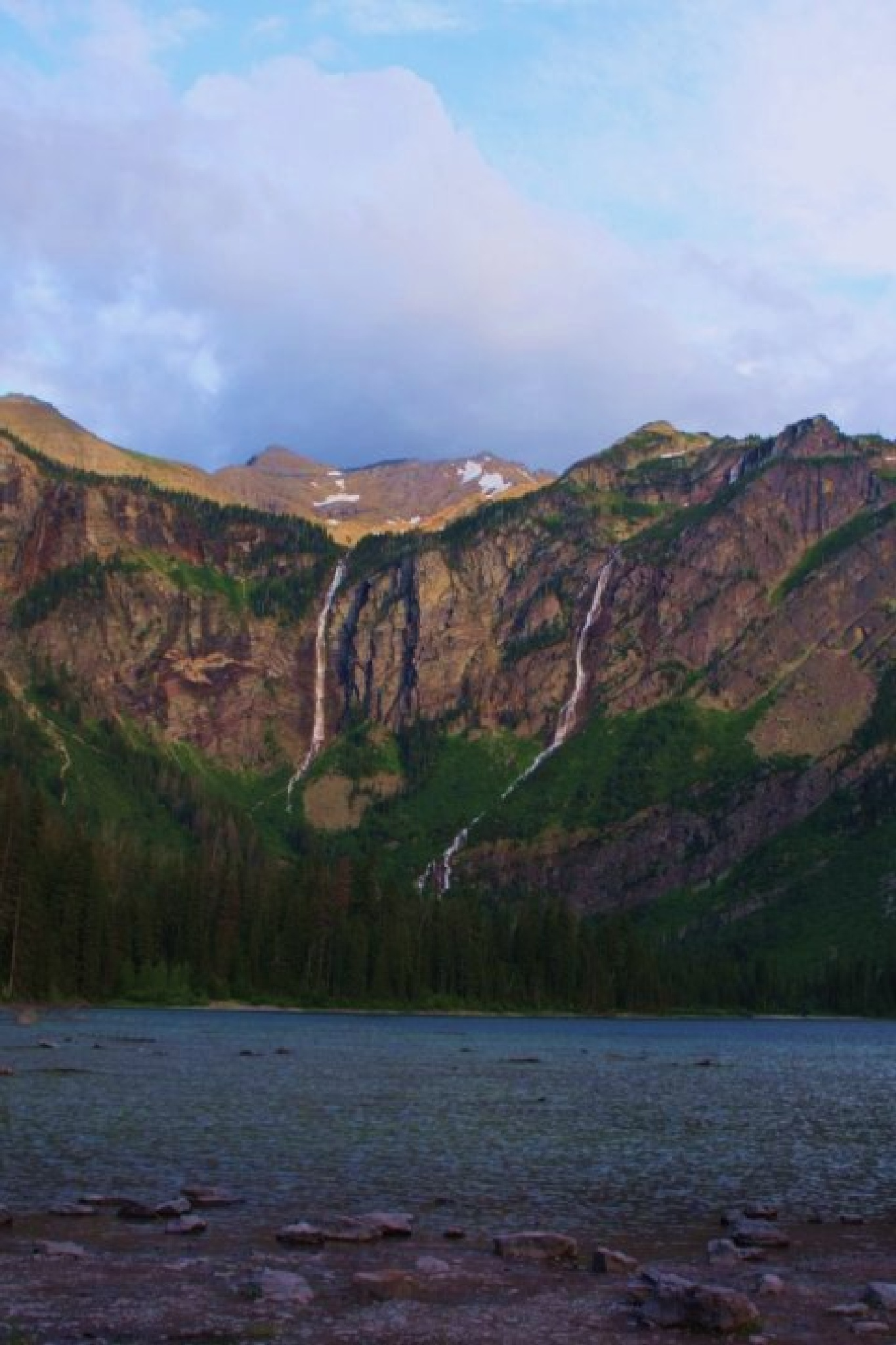 Avalanche  lake at Glacier Np by  Houston Photography Studio