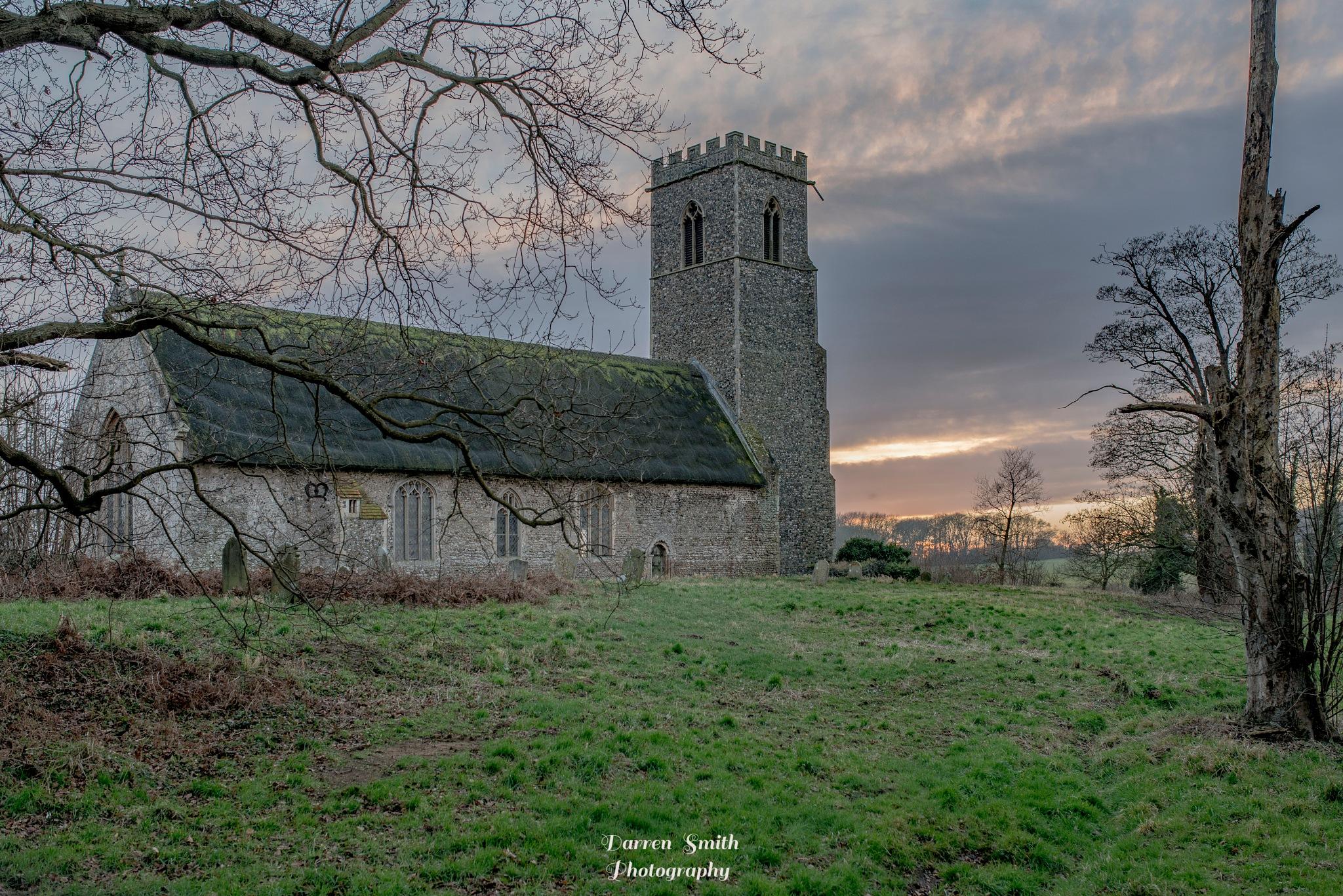Henstead Church by Darren Smith