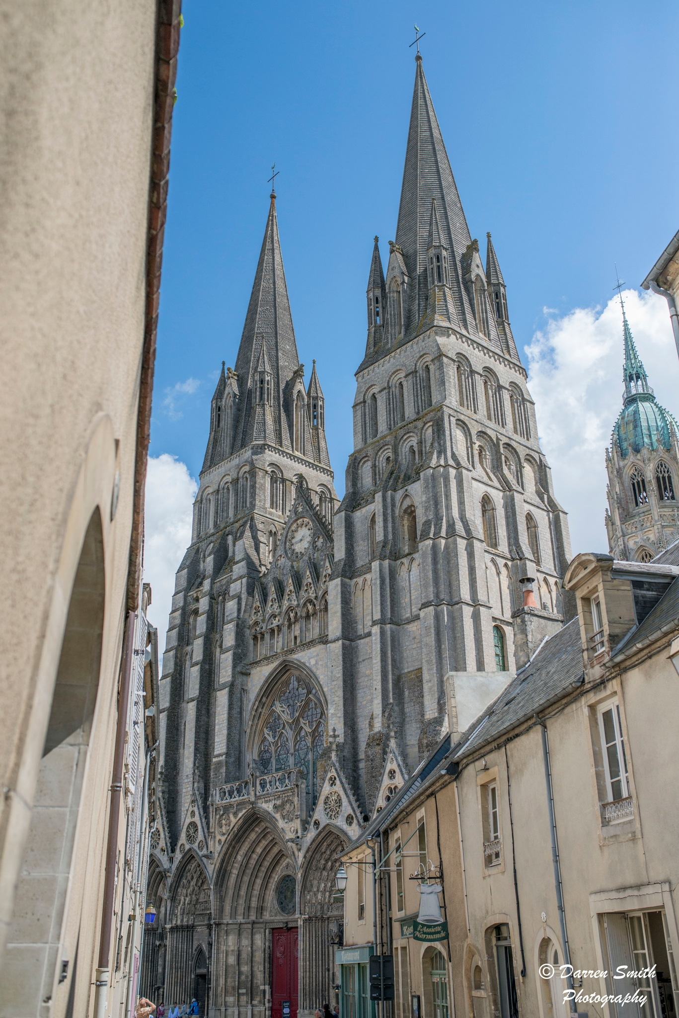 Bayeux Cathedral by Darren Smith