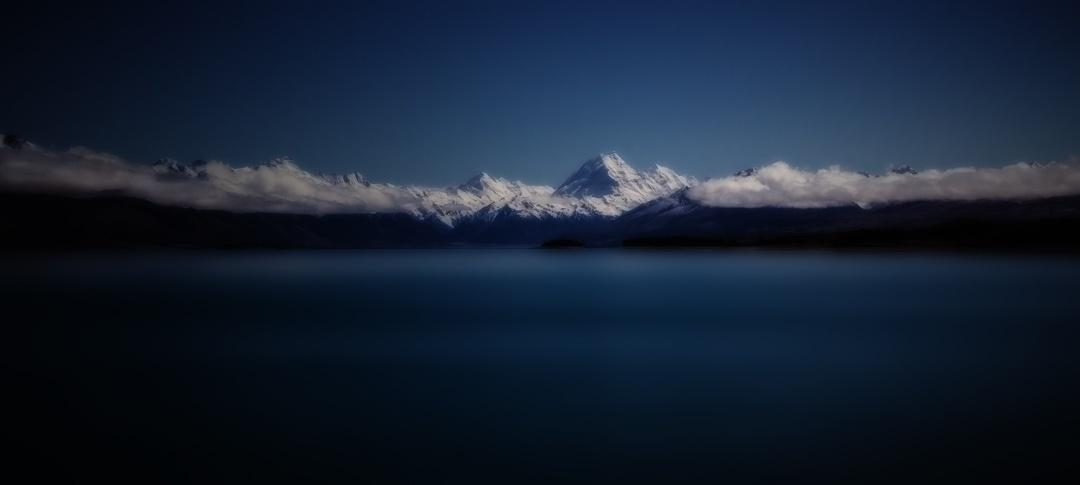 Midnight on the lake by Robert Austin