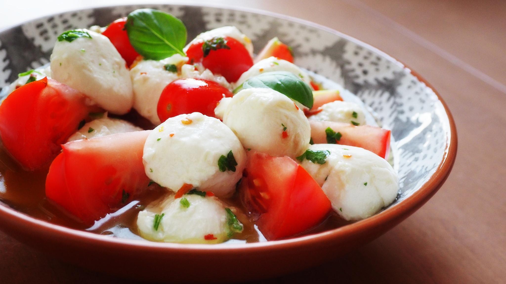 Bocconcini e Pomodori by Frederico Ferrari Fotografía