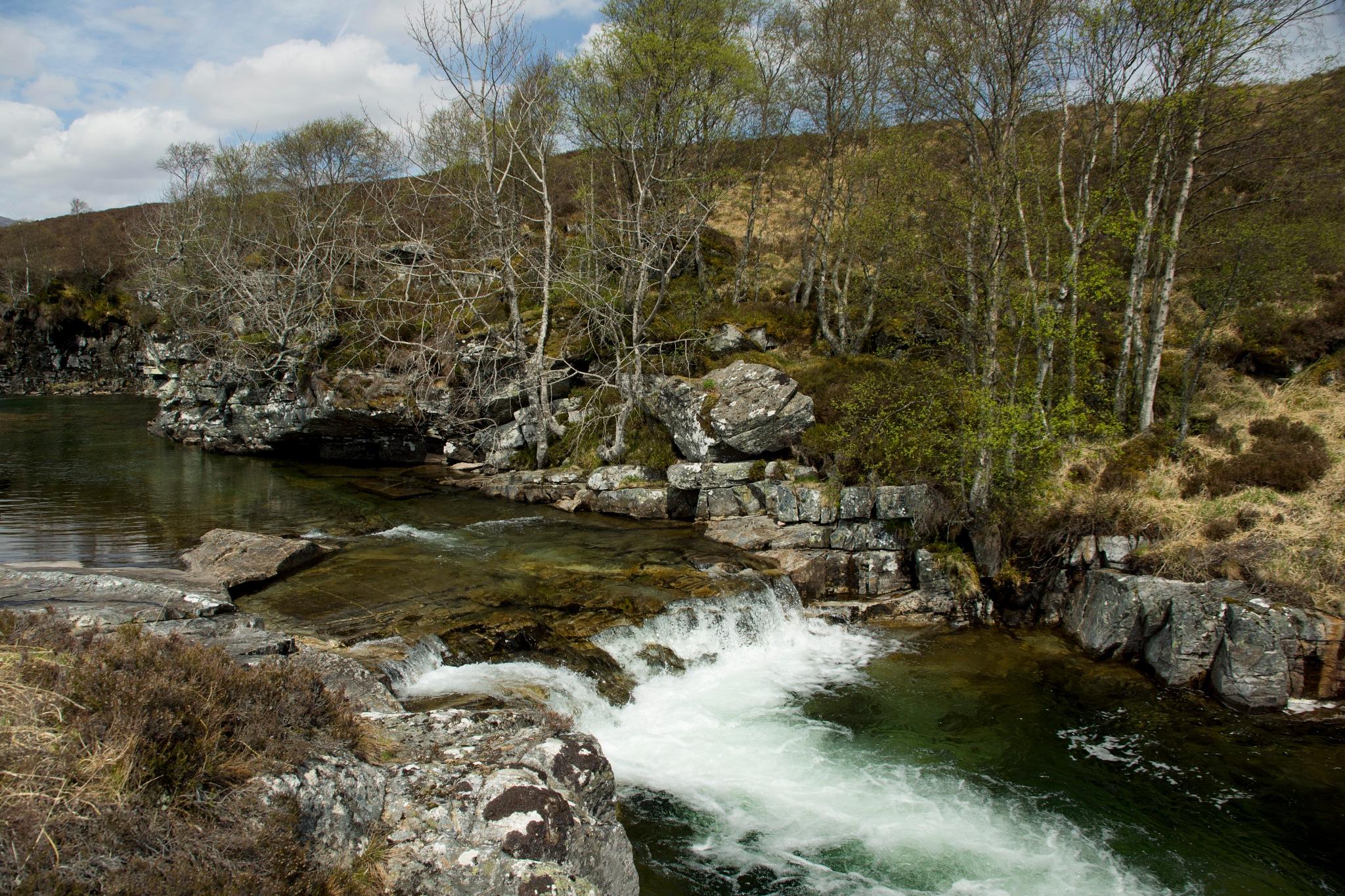 Lower Falls of the Chest of Dee by steve_whitmarsh